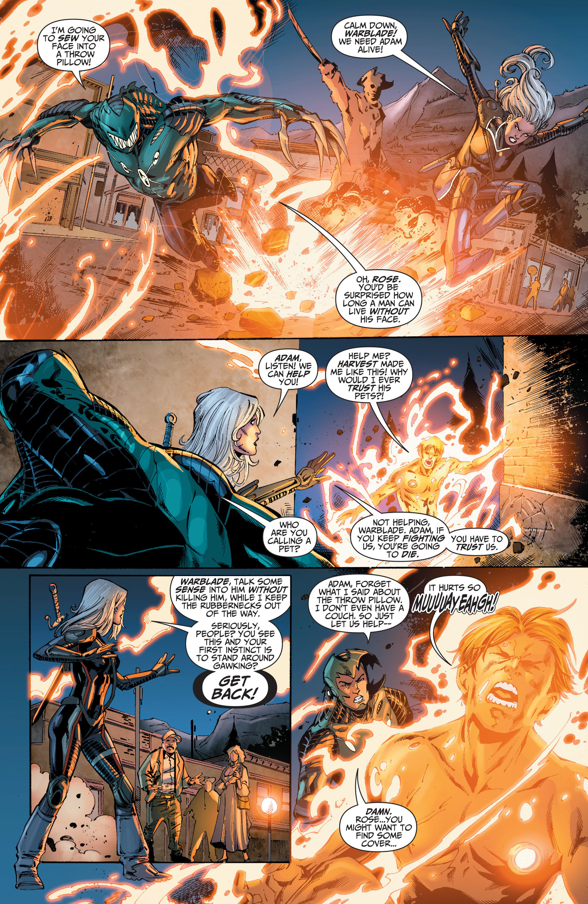 Read online The Ravagers comic -  Issue #8 - 4