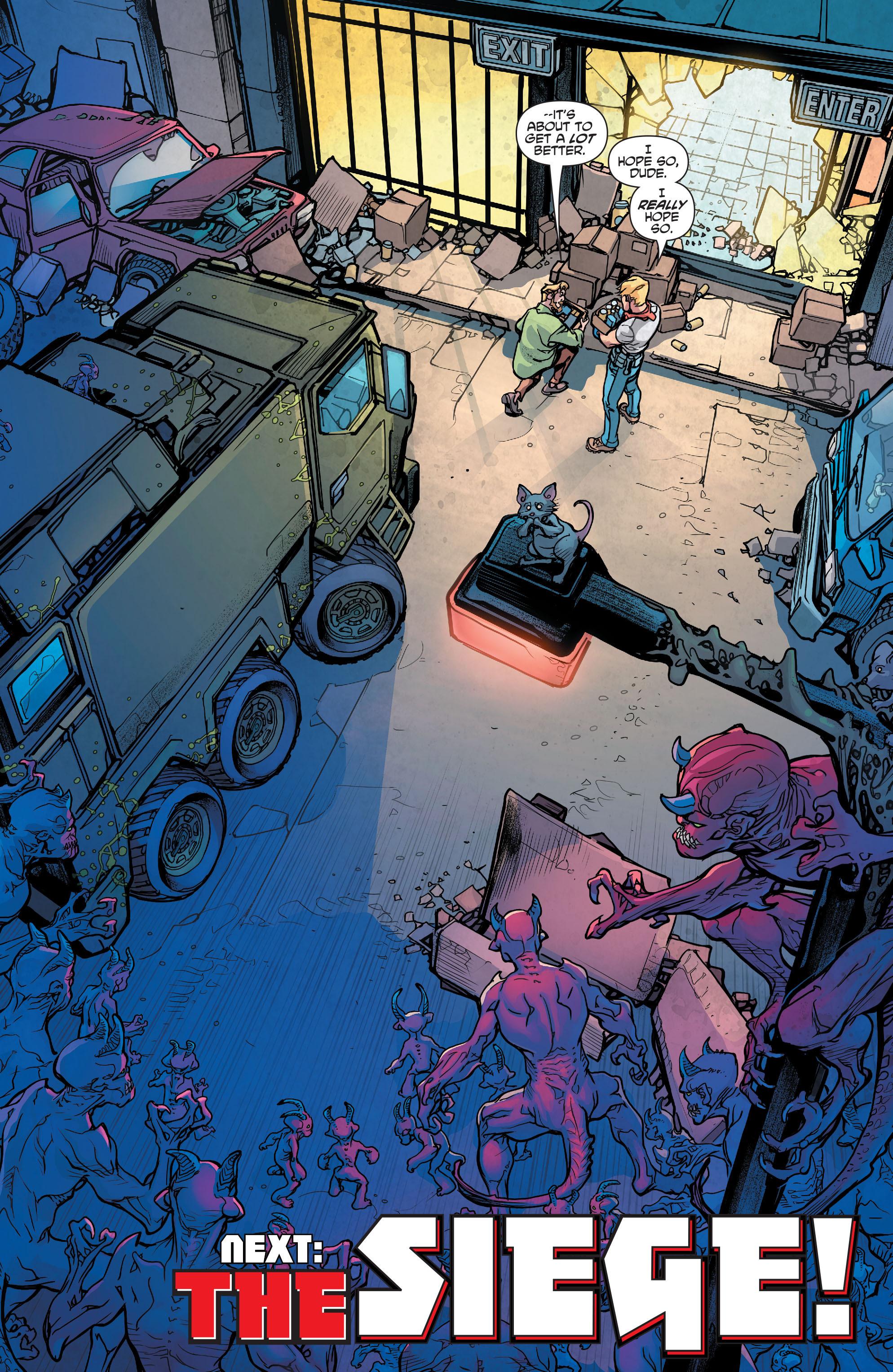 Read online Scooby Apocalypse comic -  Issue #4 - 25