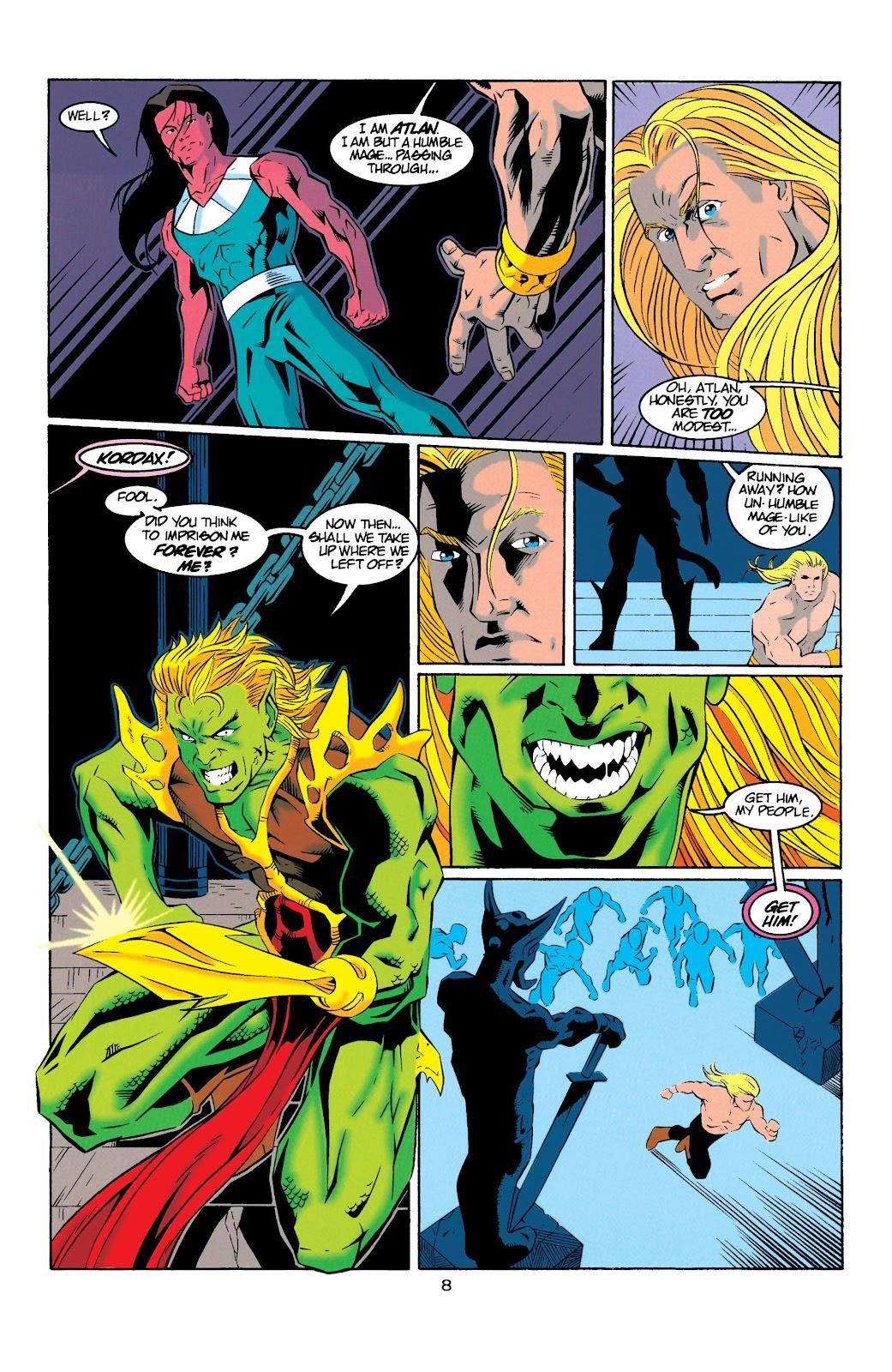 Aquaman (1994) Issue #20 #26 - English 8