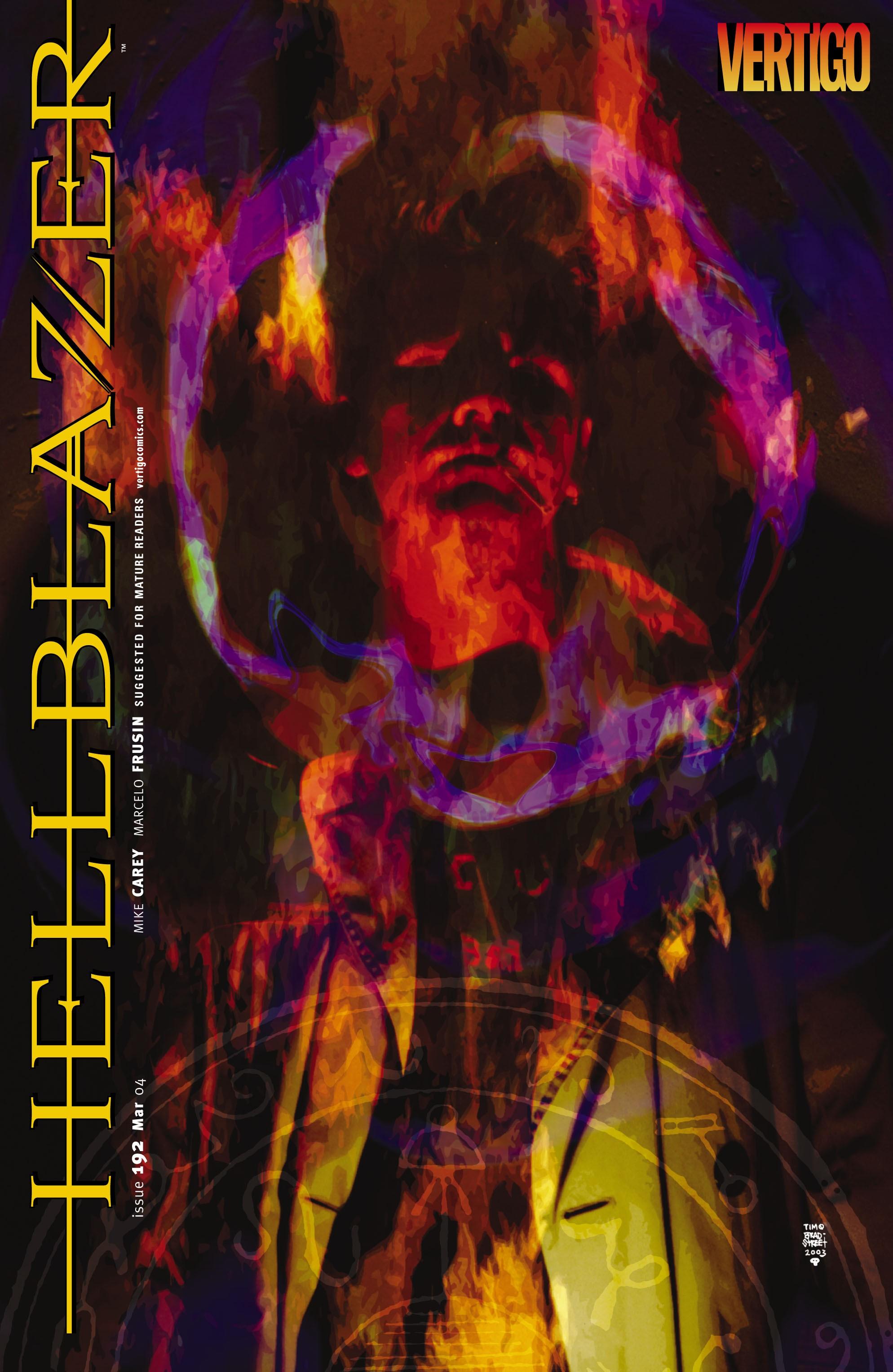 Hellblazer 192 Page 1