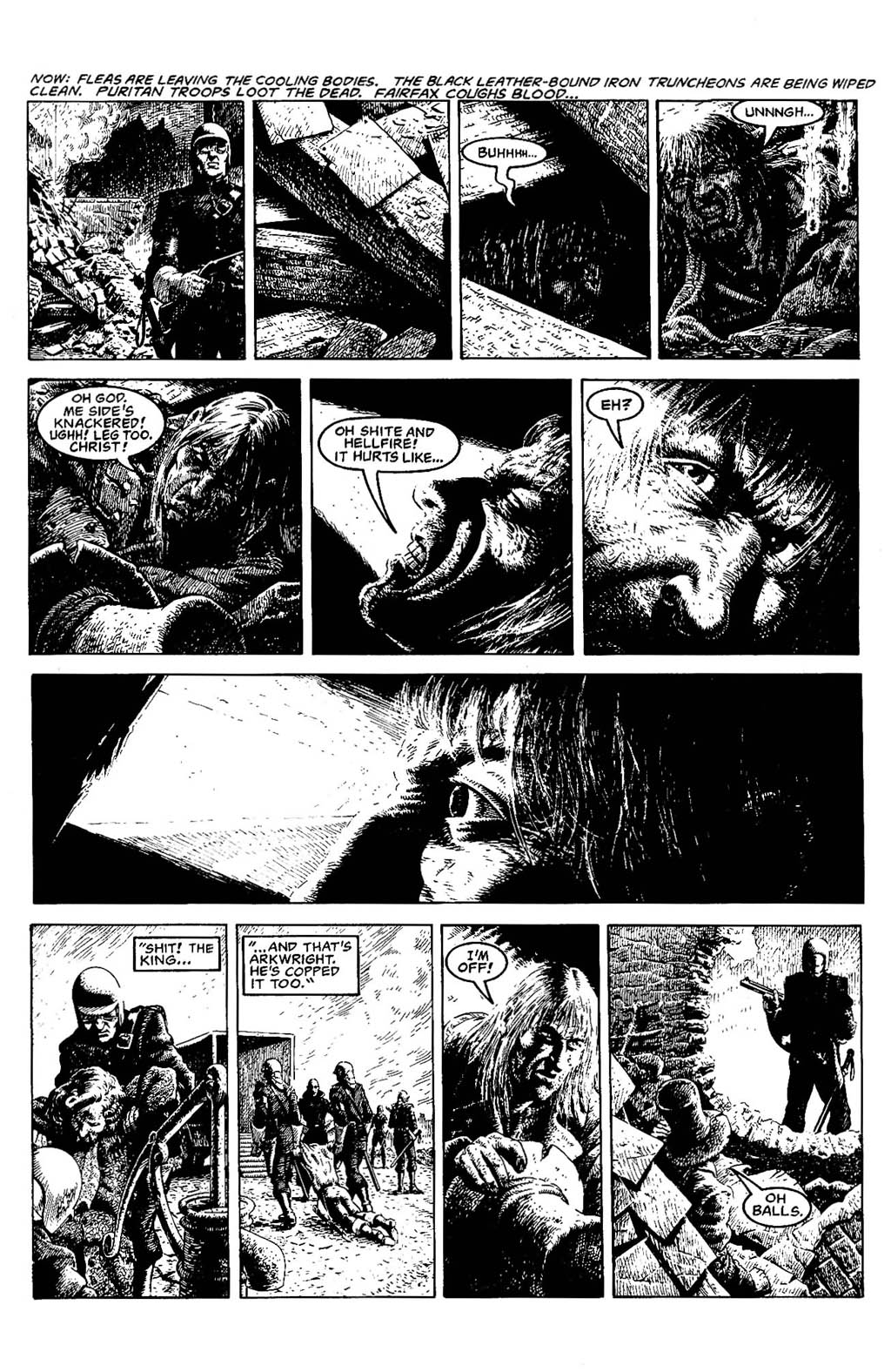 Read online The Adventures of Luther Arkwright comic -  Issue #5 - 9