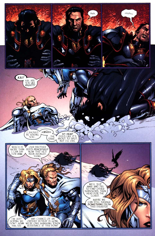 Read online Scion comic -  Issue #22 - 23