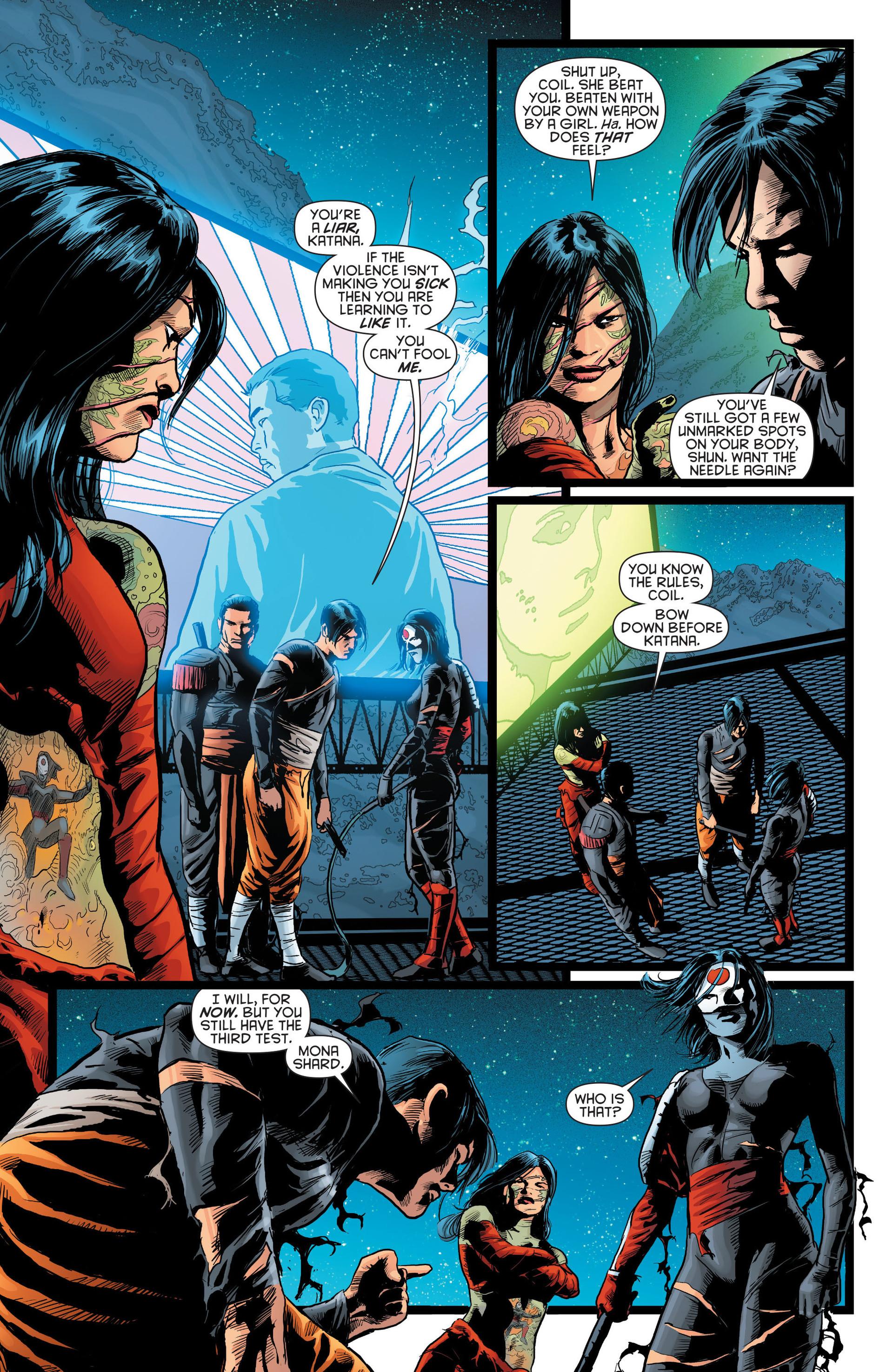 Read online Katana comic -  Issue #8 - 11