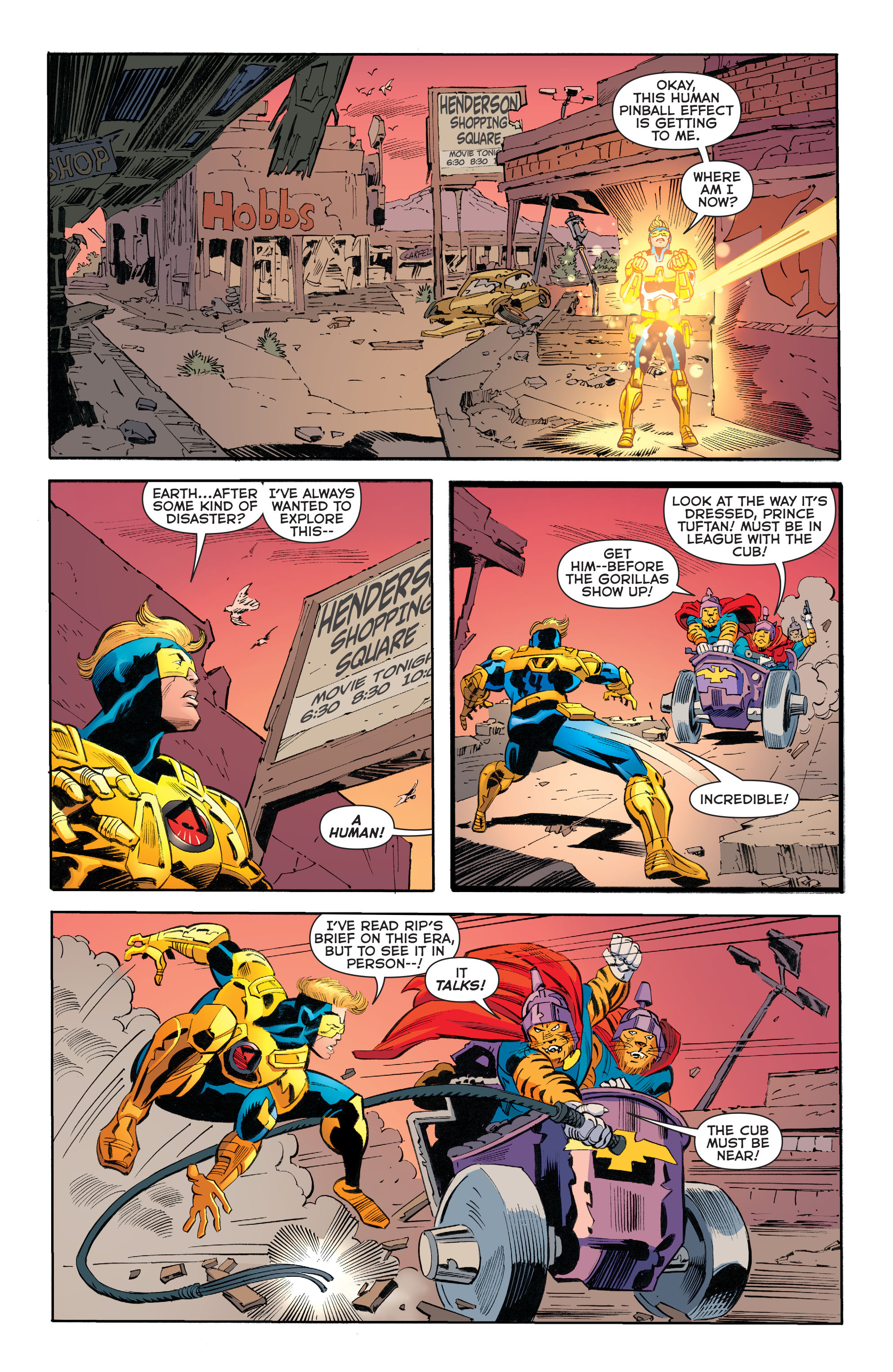 Read online Booster Gold: Futures End comic -  Issue # Full - 13