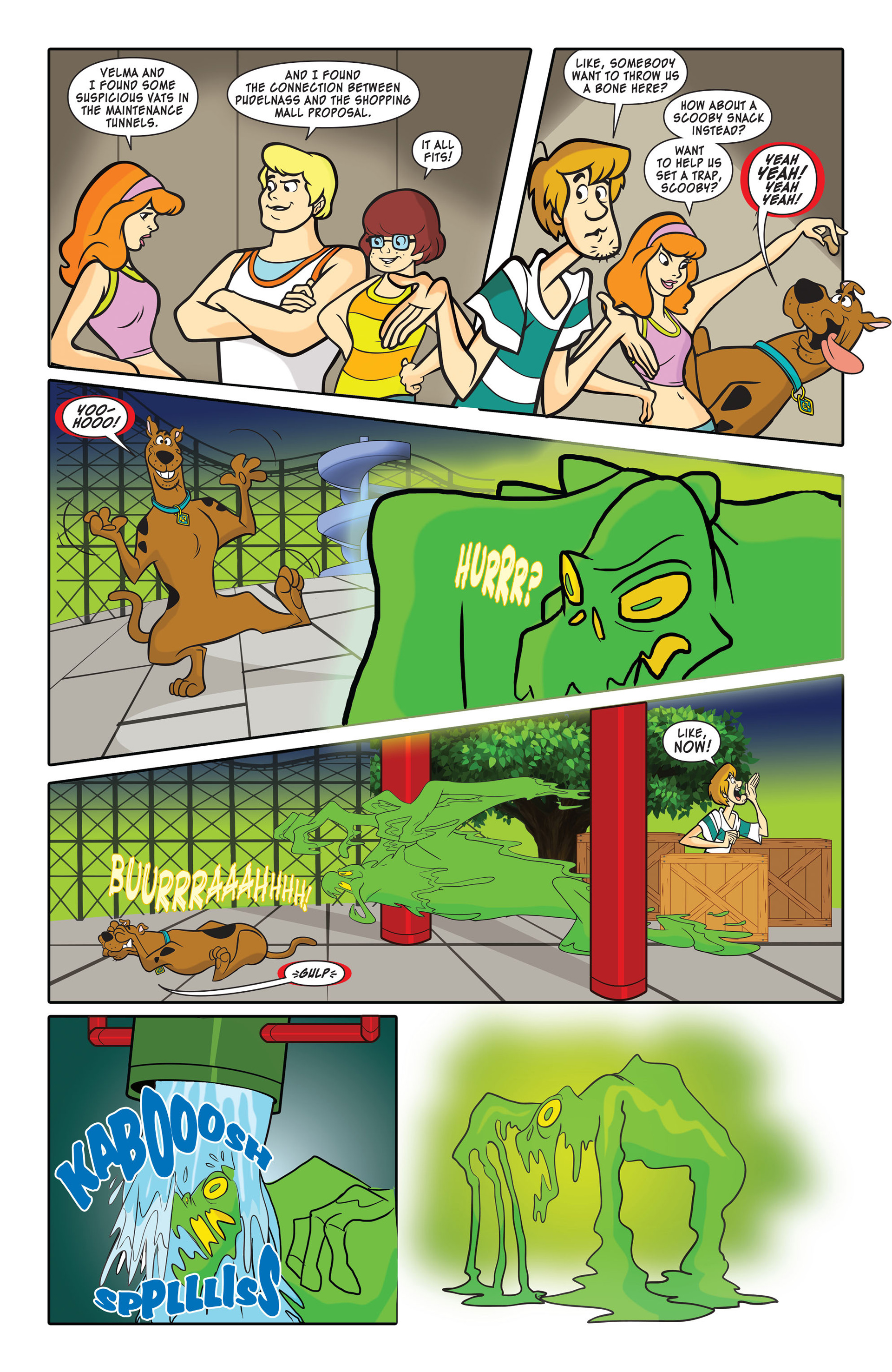 Read online Scooby-Doo: Where Are You? comic -  Issue #45 - 10
