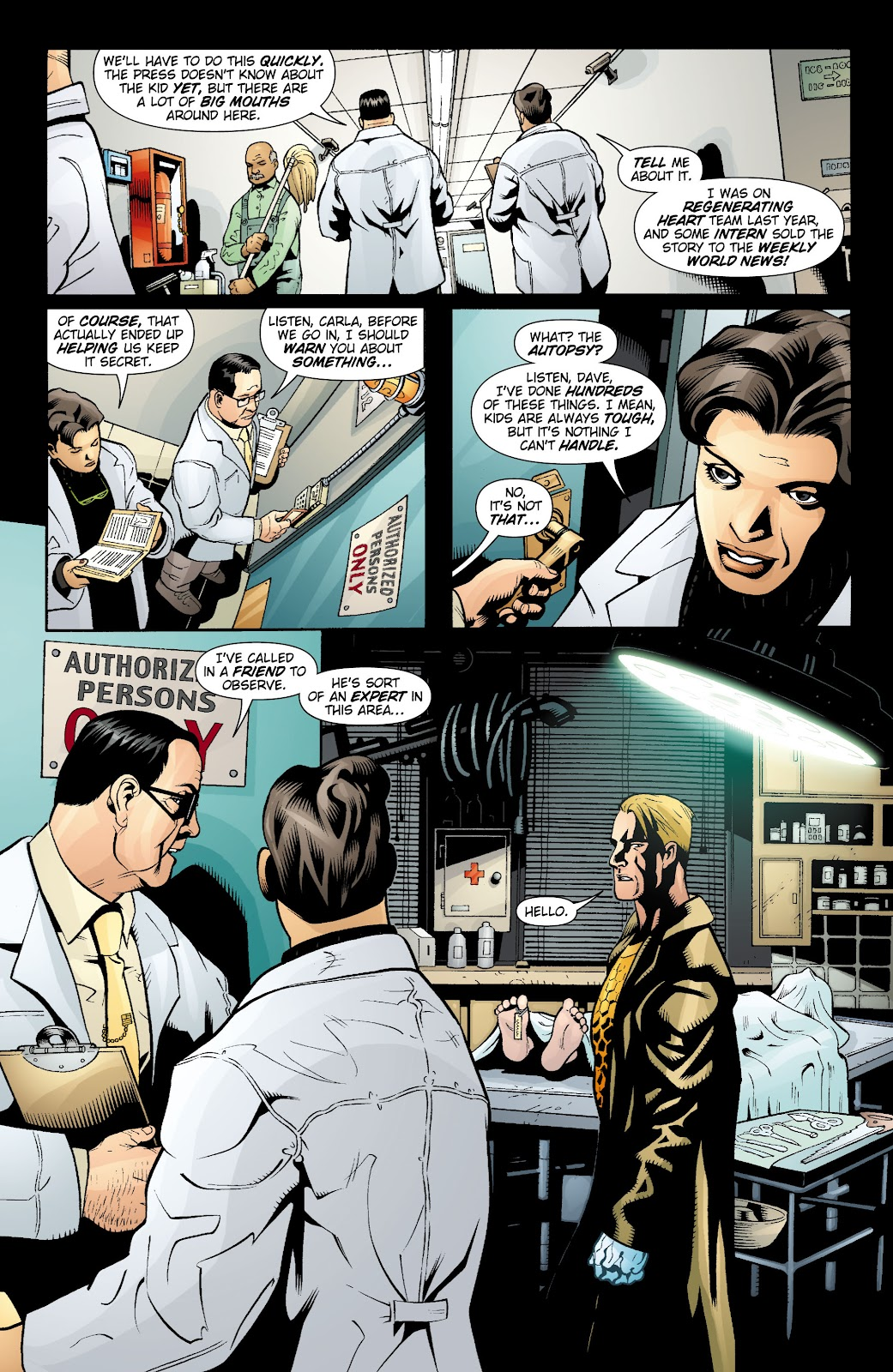 Aquaman (2003) Issue #15 #15 - English 17