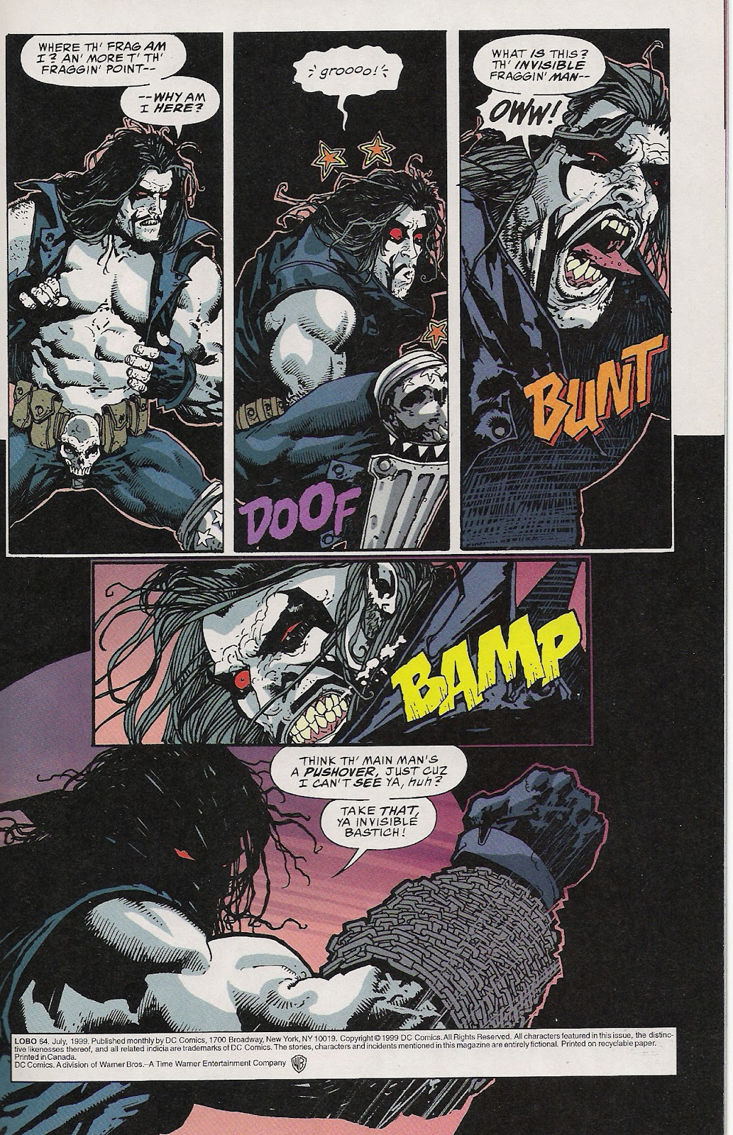 Lobo (1993) Issue #64 #69 - English 2