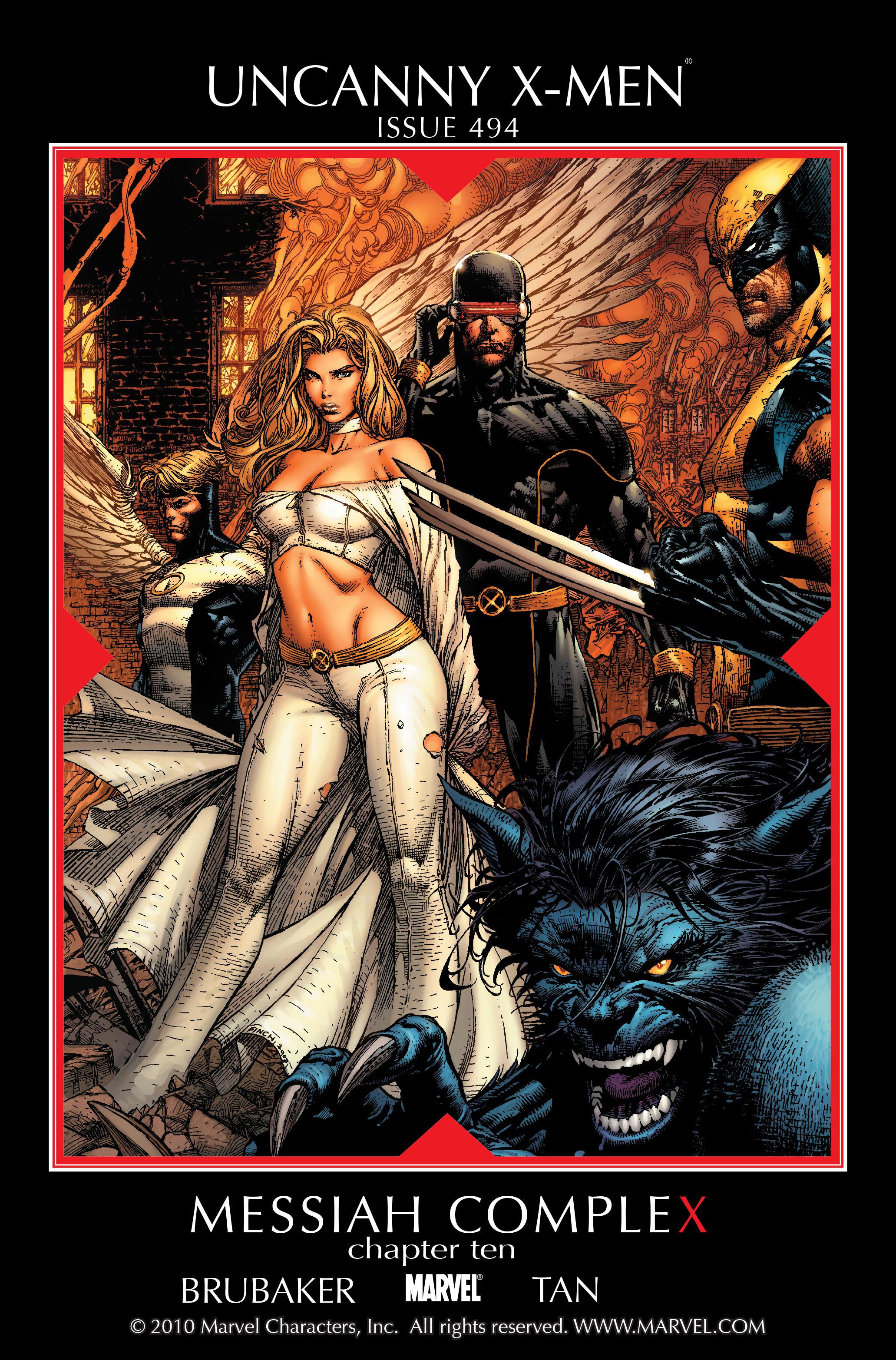Uncanny X-Men (1963) 494 Page 1