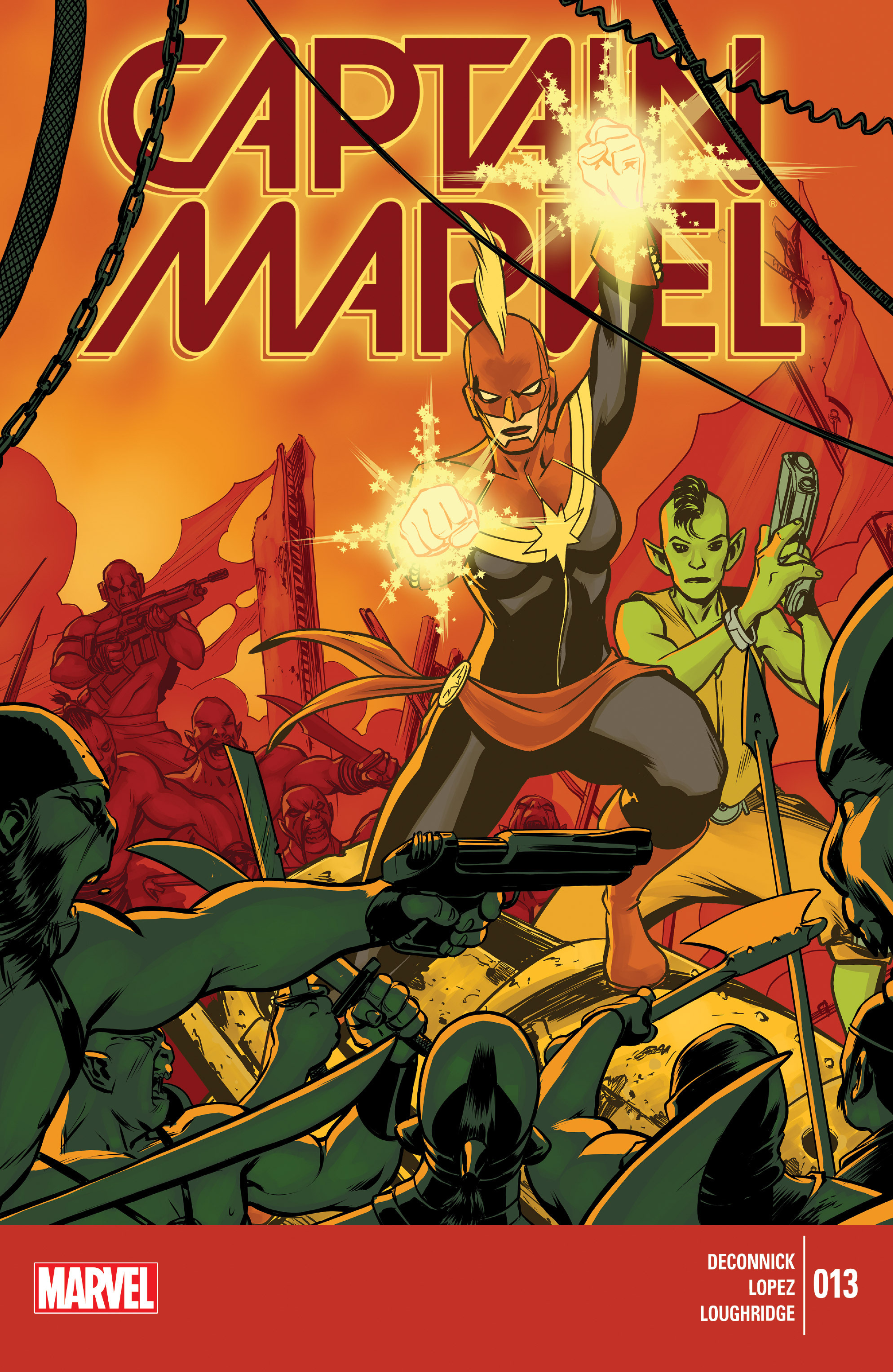 Captain Marvel (2014) 13 Page 1