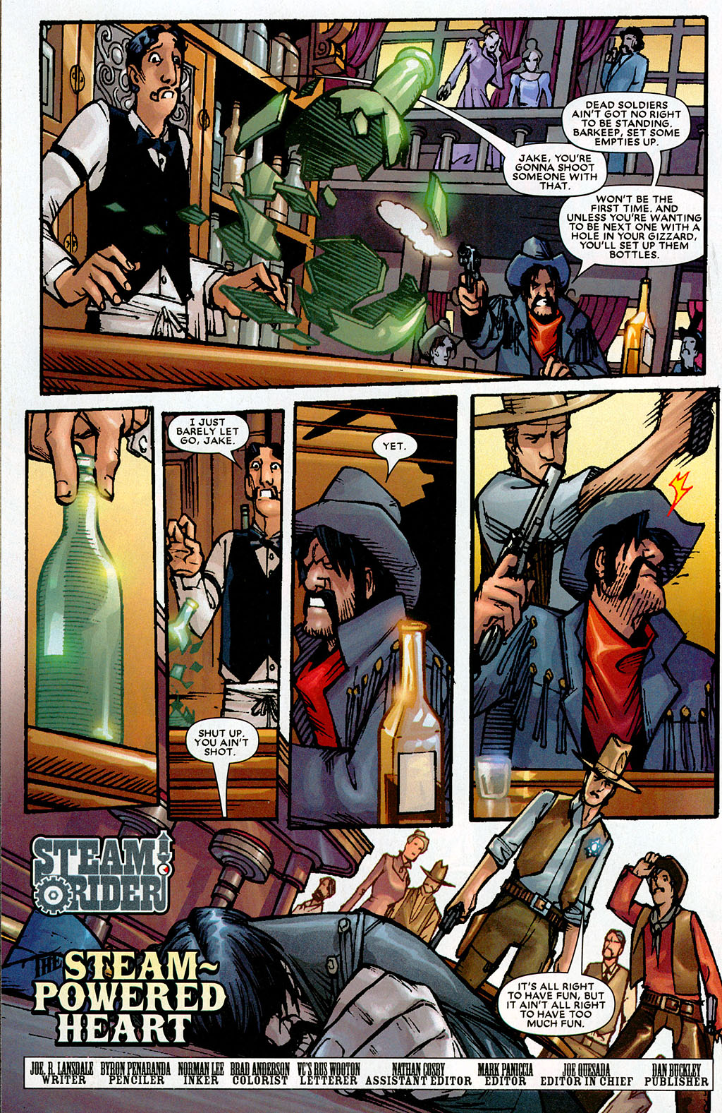 Read online Amazing Fantasy (2004) comic -  Issue #20 - 24