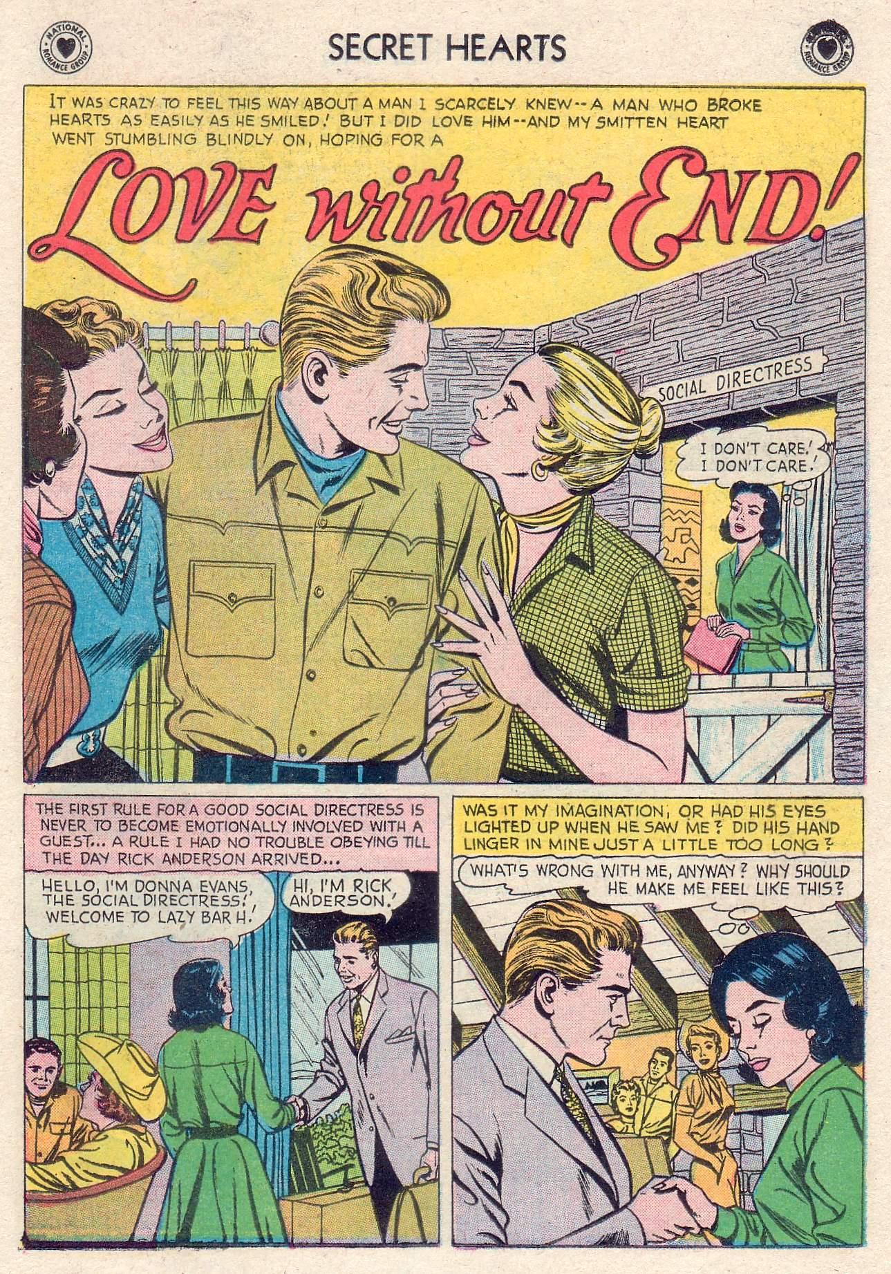 Read online Secret Hearts comic -  Issue #46 - 19