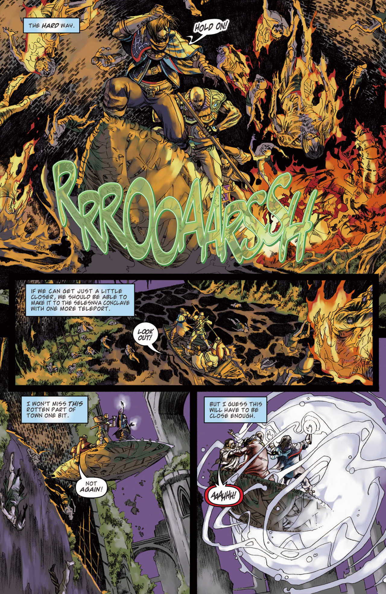 Read online Magic: The Gathering--Path of Vengeance comic -  Issue #3 - 20