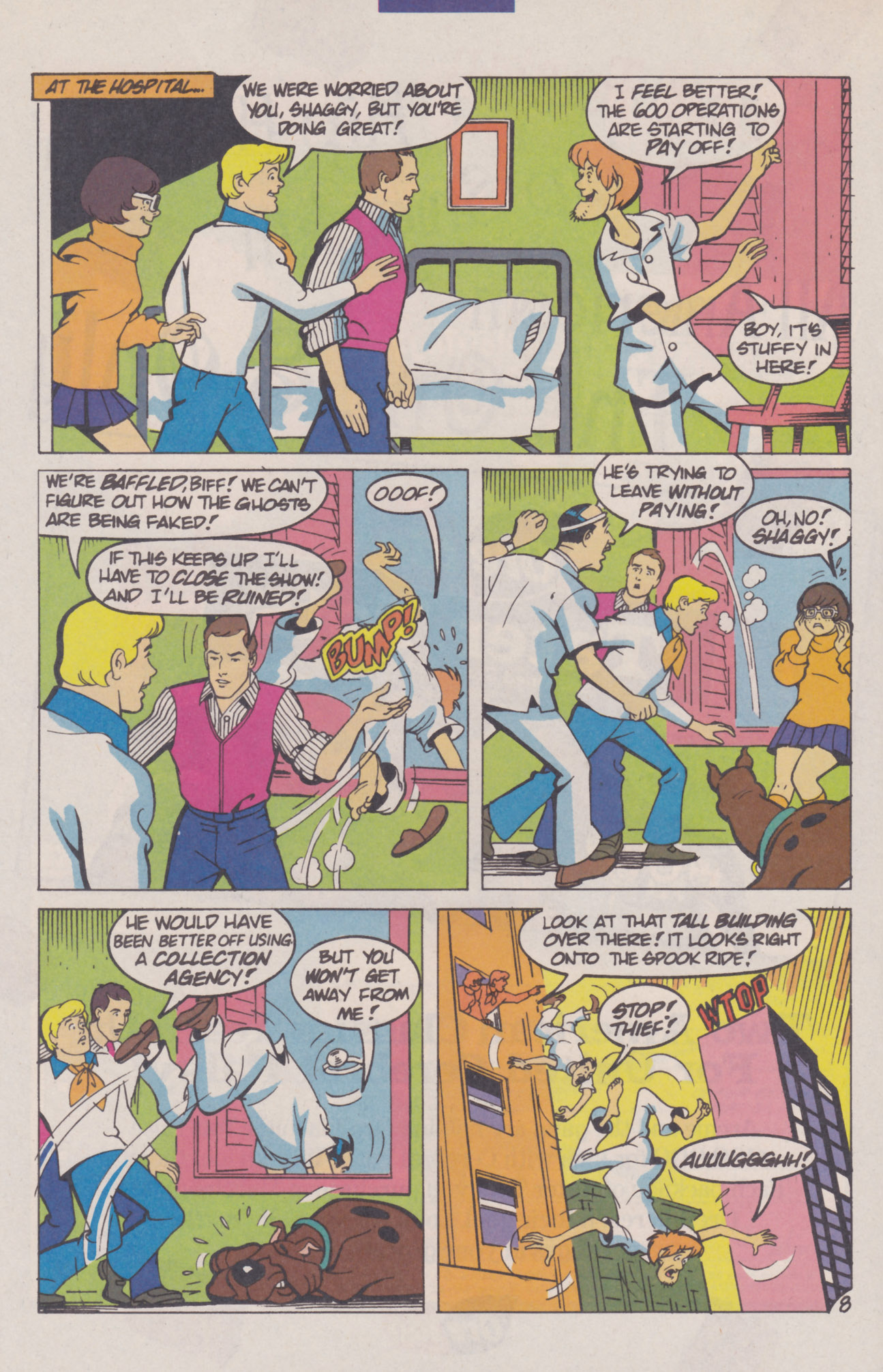 Read online Scooby-Doo (1995) comic -  Issue #8 - 12