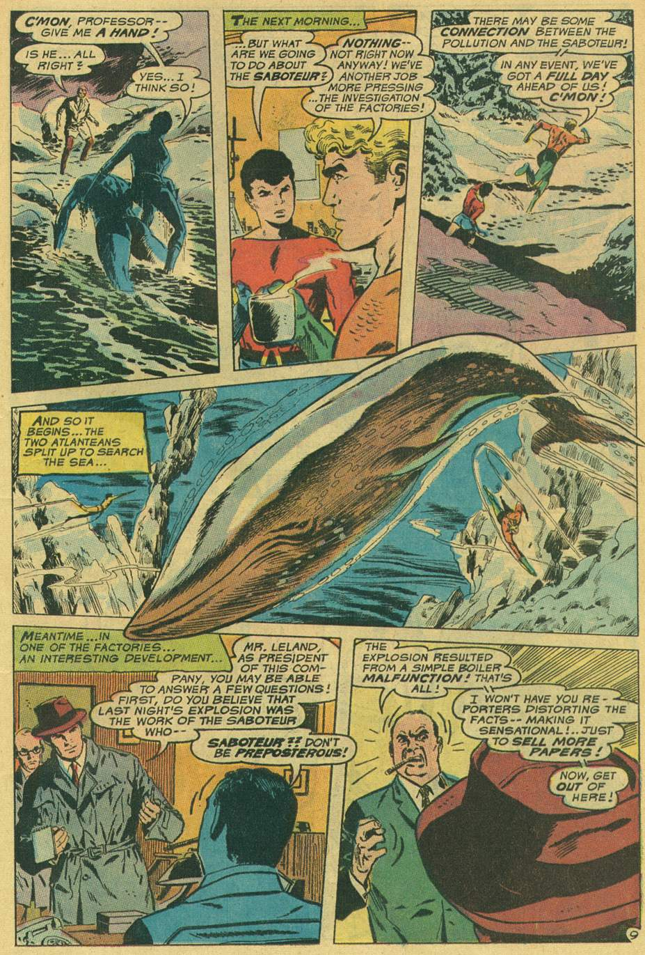 Aquaman (1962) Issue #49 #49 - English 13