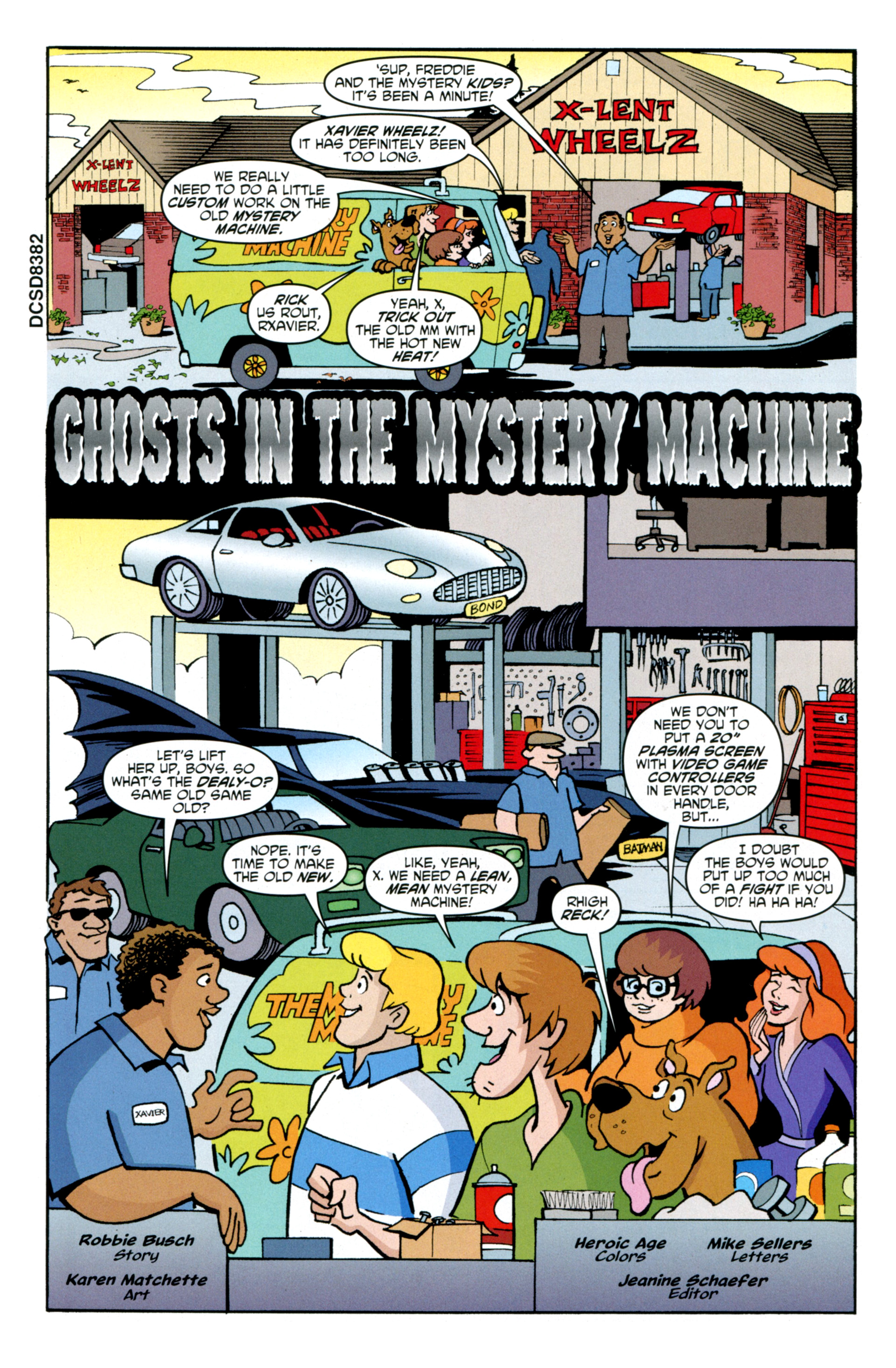 Read online Scooby-Doo: Where Are You? comic -  Issue #34 - 17