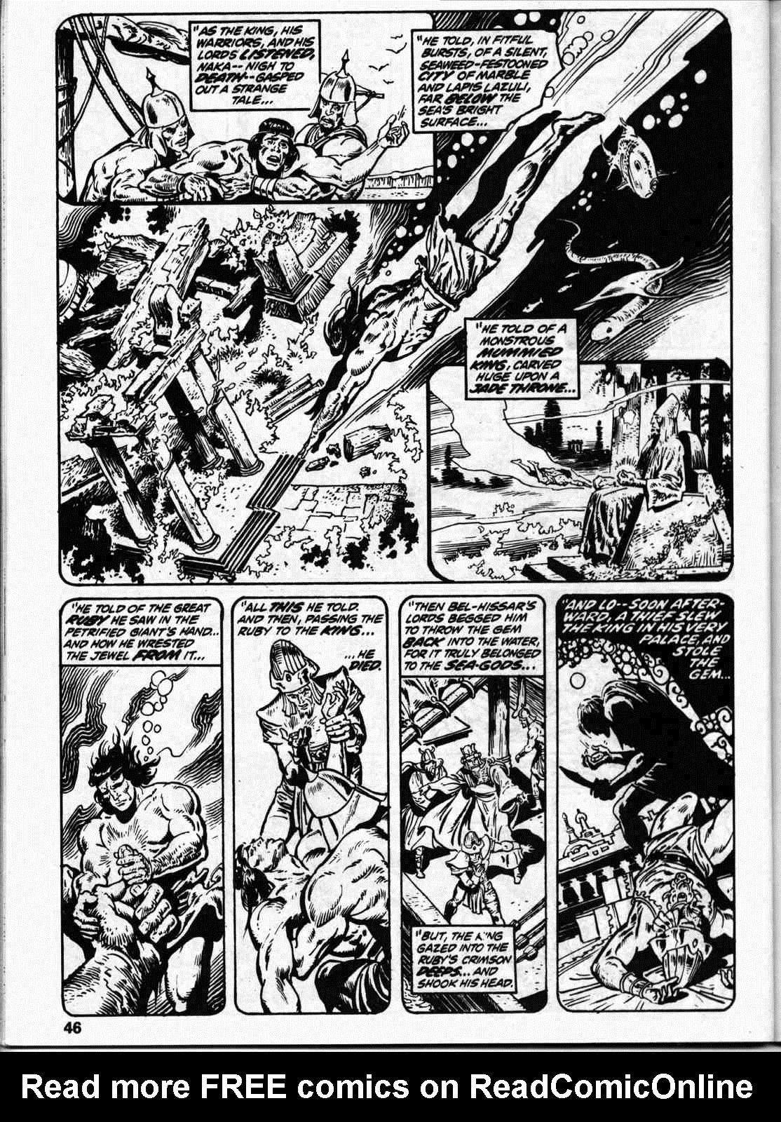 The Savage Sword Of Conan Issue #59 #60 - English 53