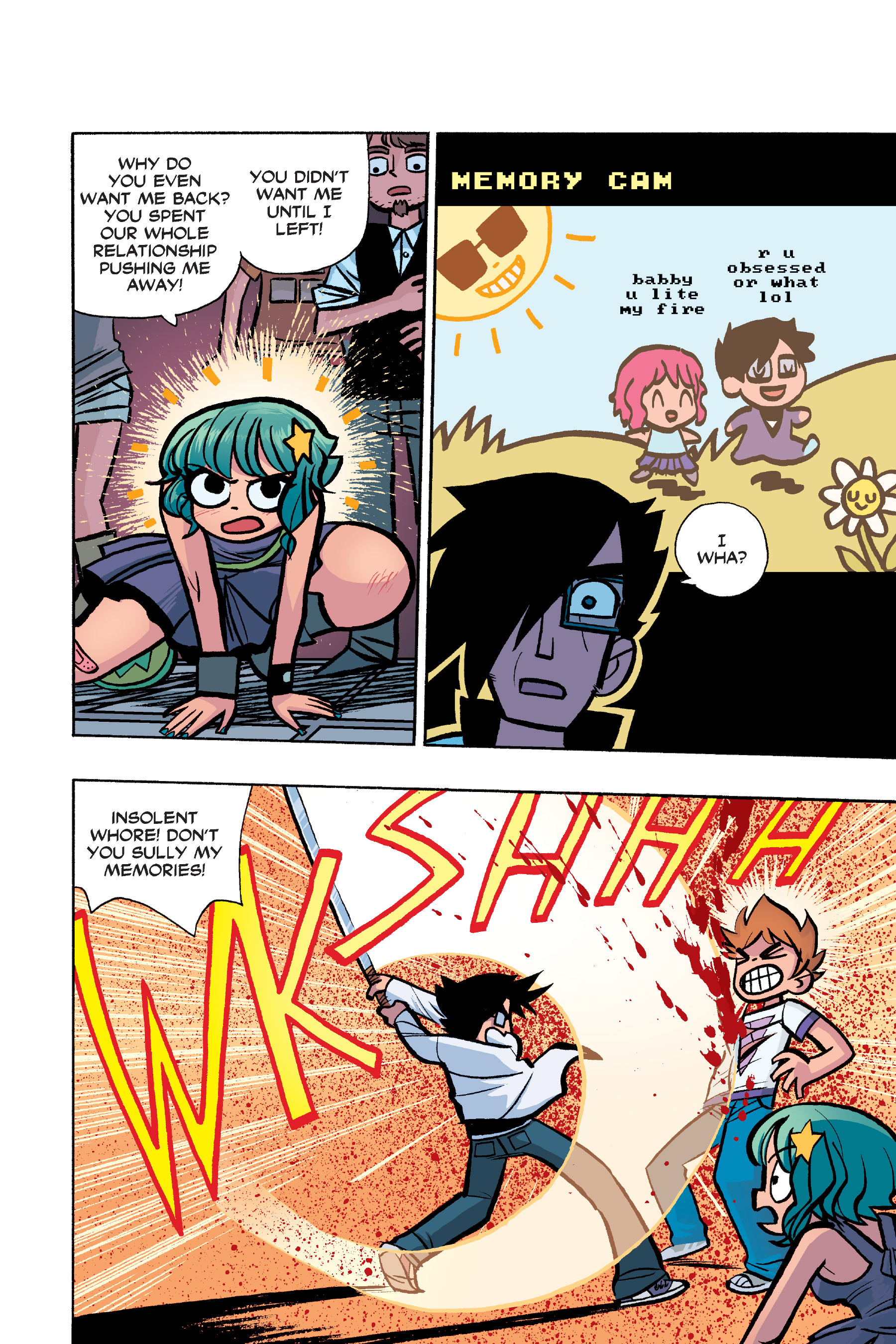 Read online Scott Pilgrim comic -  Issue #6 - 153