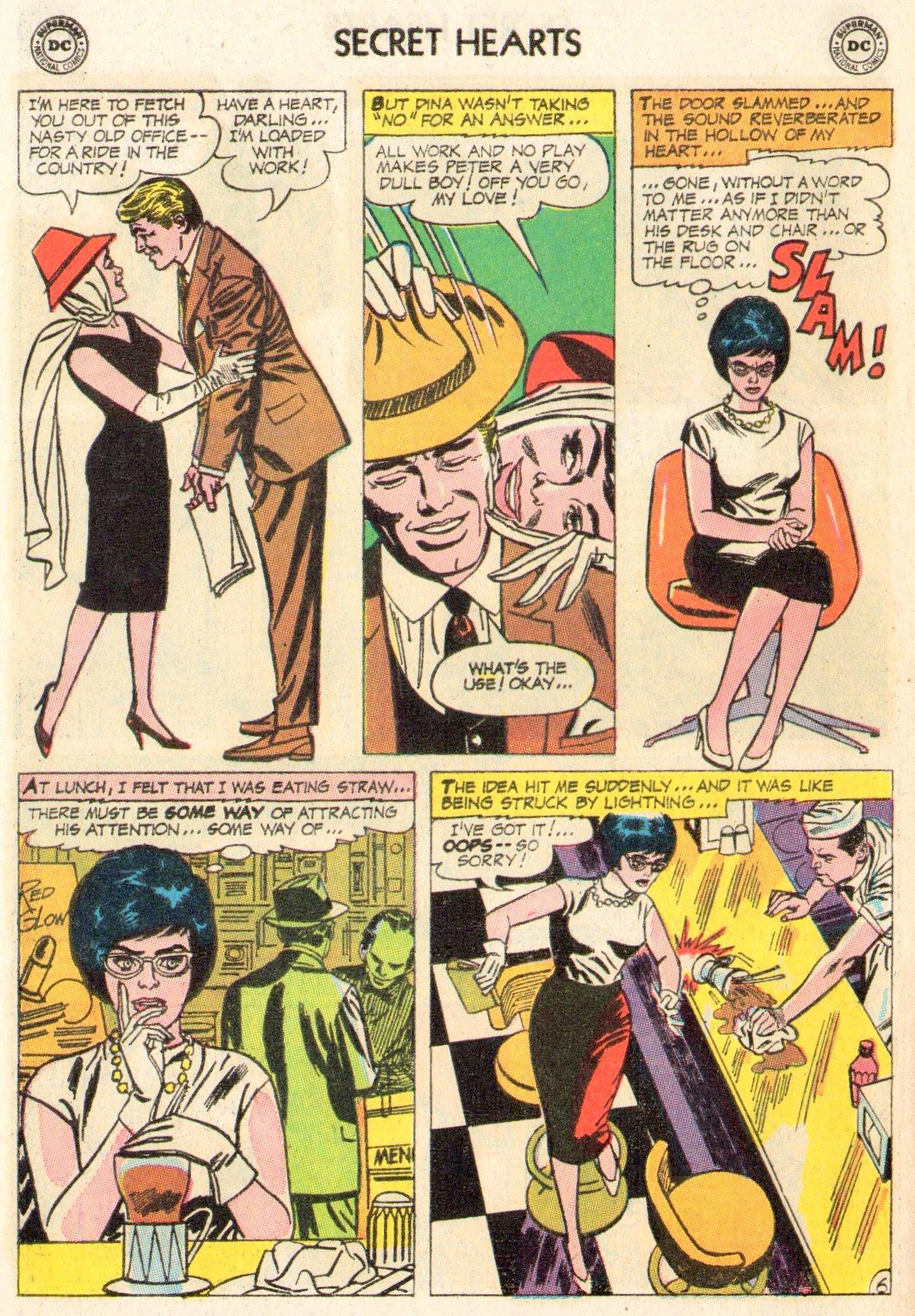 Read online Secret Hearts comic -  Issue #104 - 8