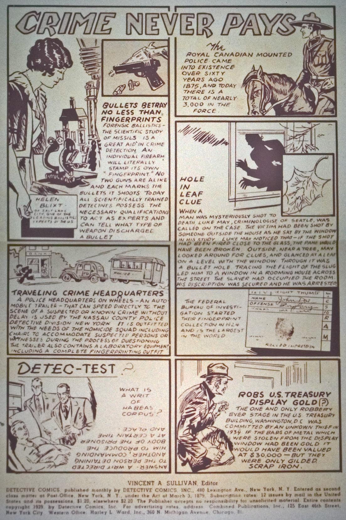 Detective Comics (1937) 27 Page 1