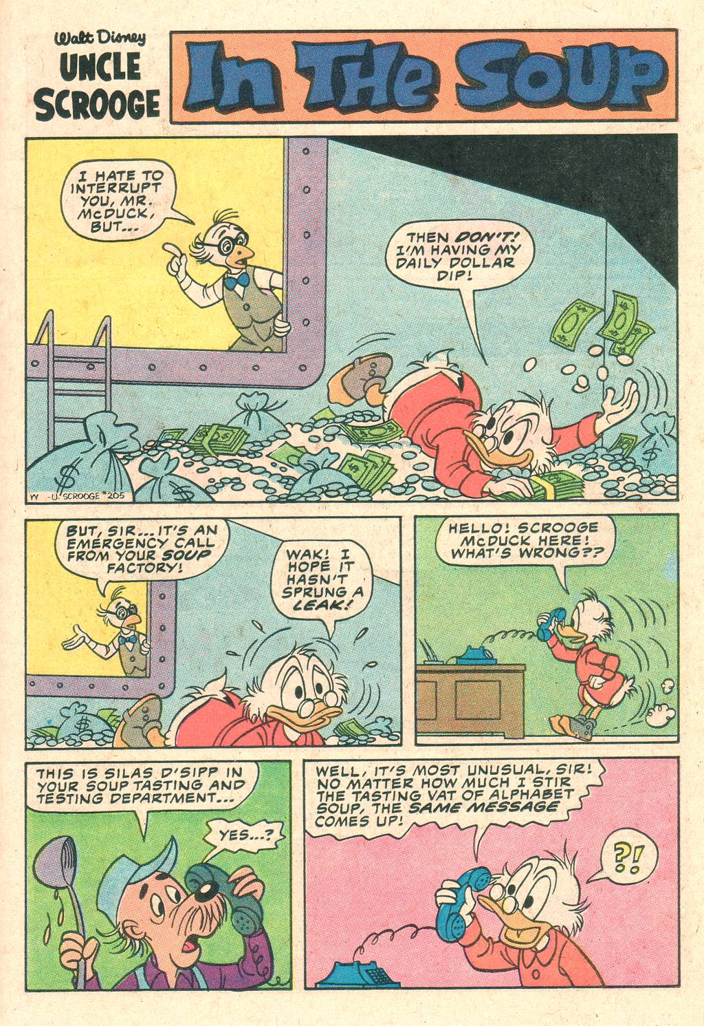 Uncle Scrooge (1953) Issue #205 #205 - English 15