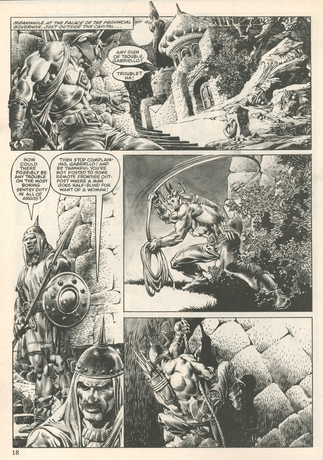 The Savage Sword Of Conan Issue #107 #108 - English 18