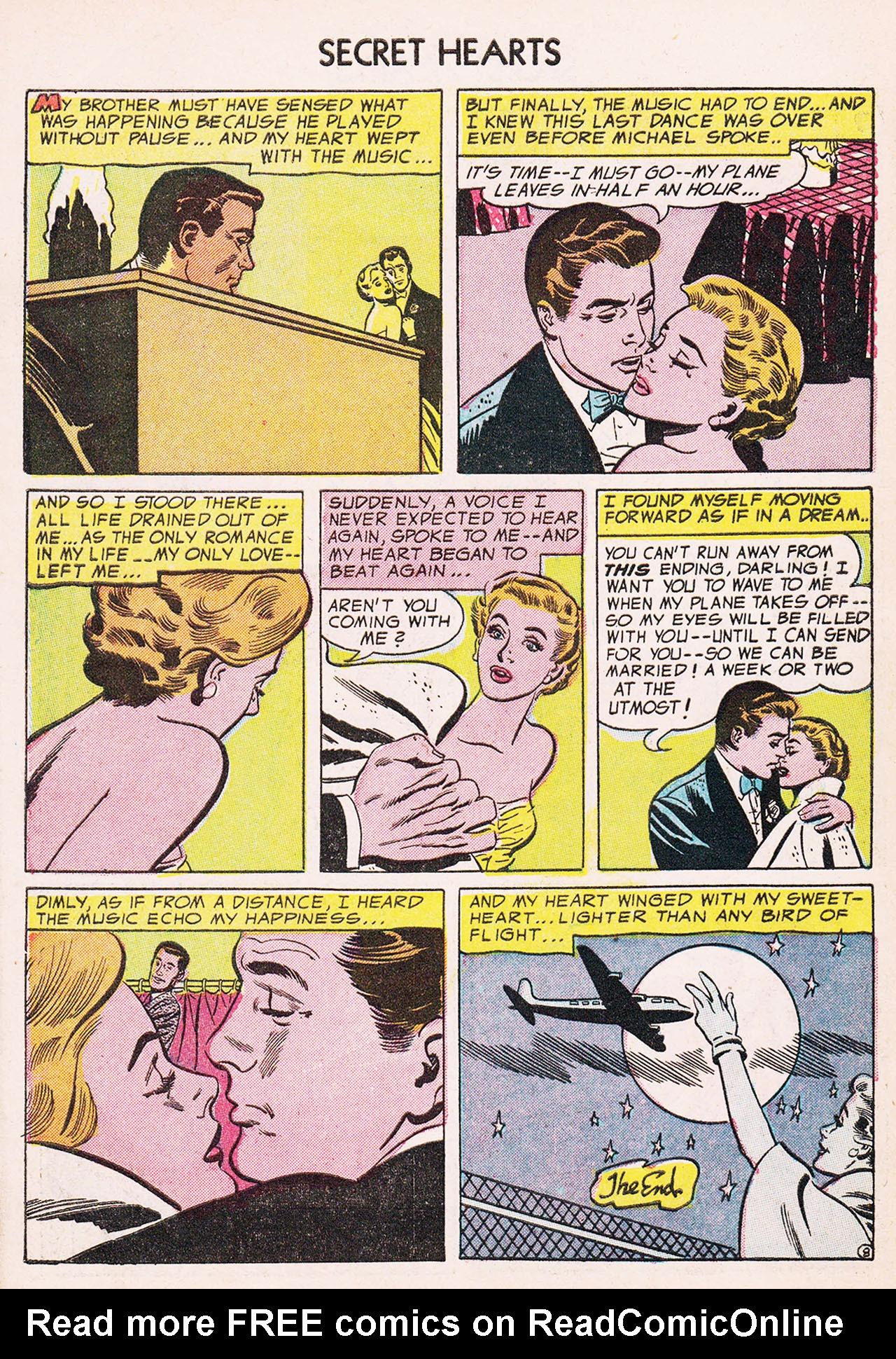 Read online Secret Hearts comic -  Issue #24 - 34
