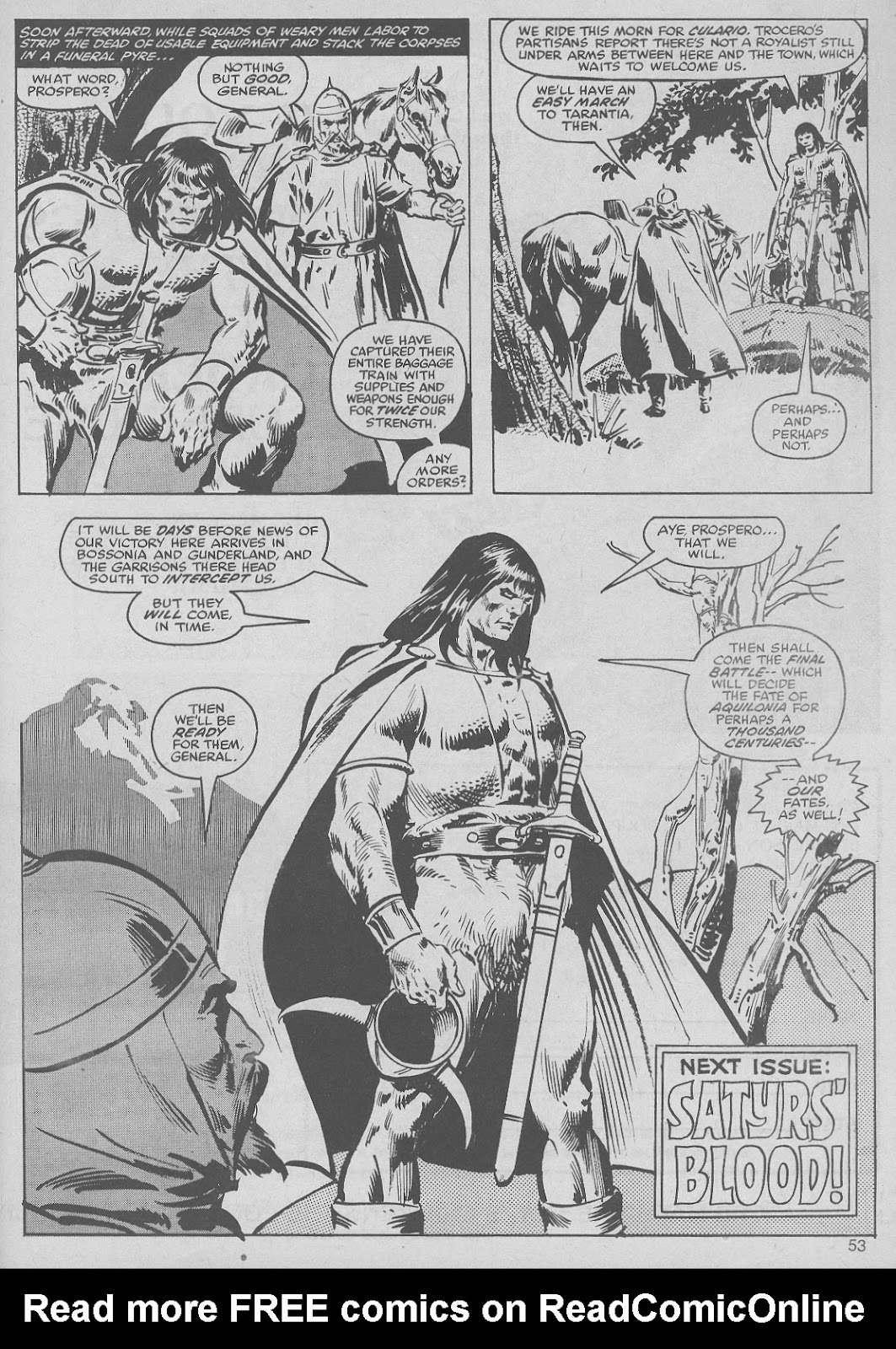 The Savage Sword Of Conan Issue #50 #51 - English 53
