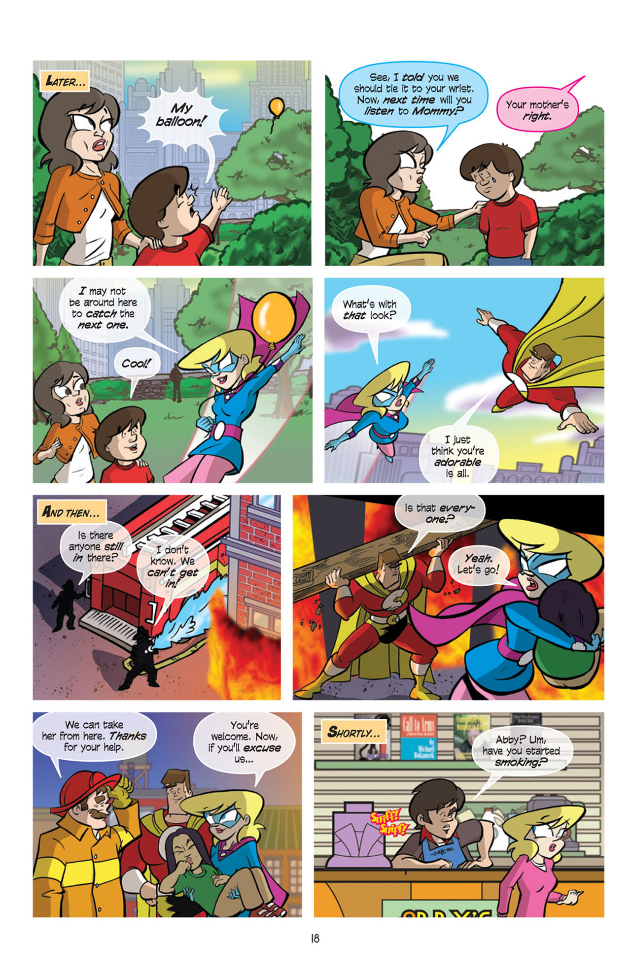 Read online Love and Capes comic -  Issue #10 - 20