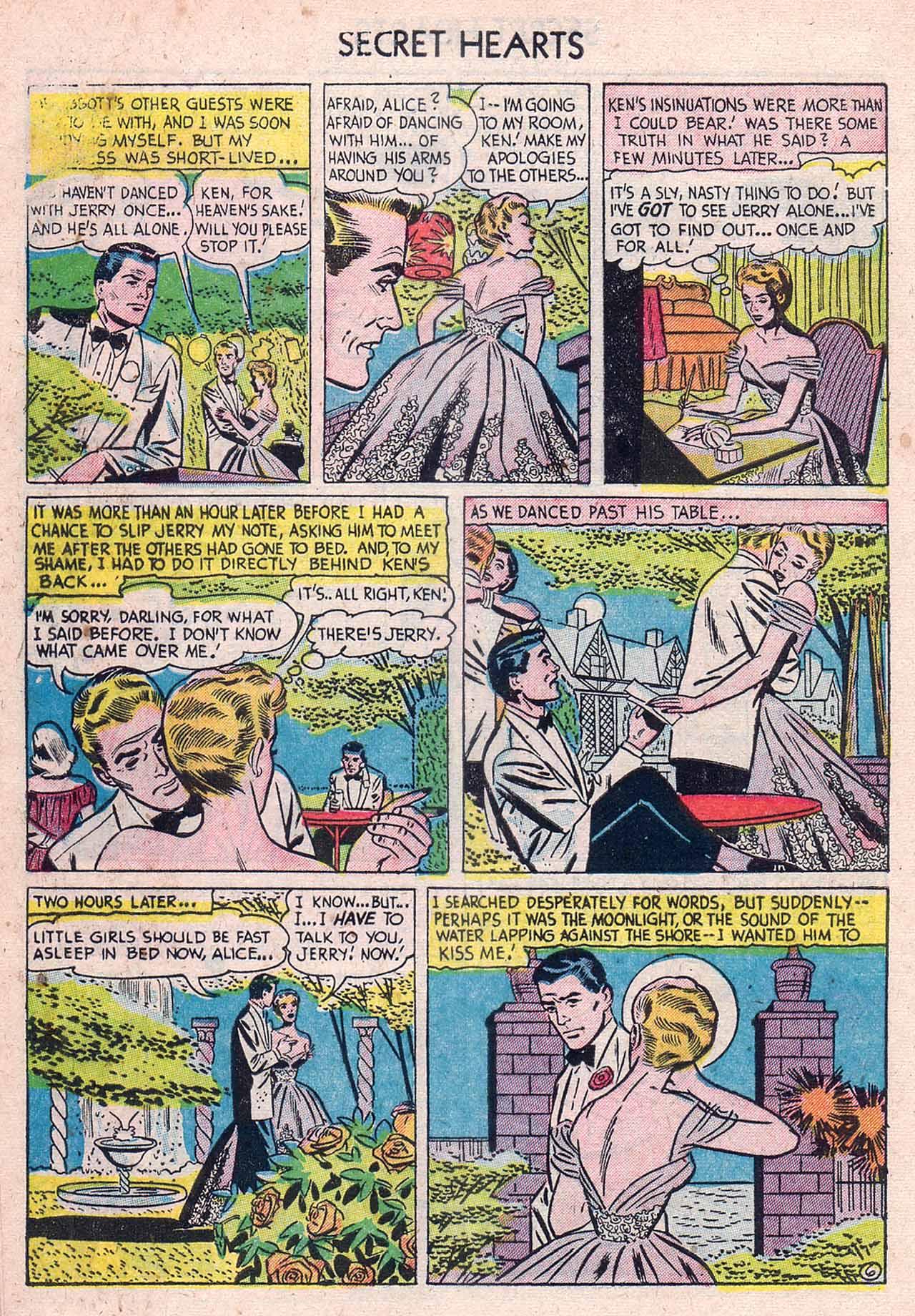 Read online Secret Hearts comic -  Issue #12 - 32
