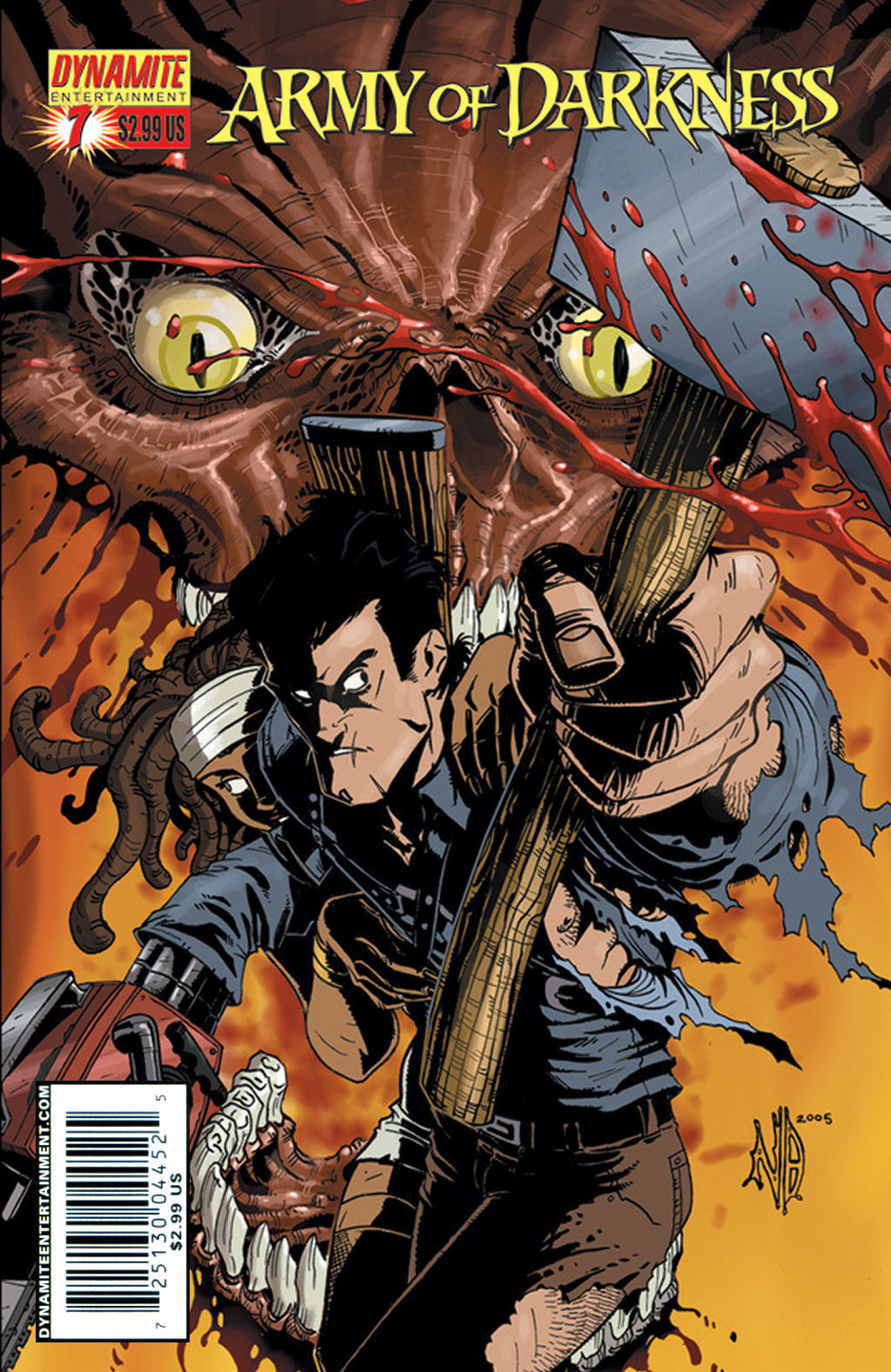 Army of Darkness (2006) 7 Page 1