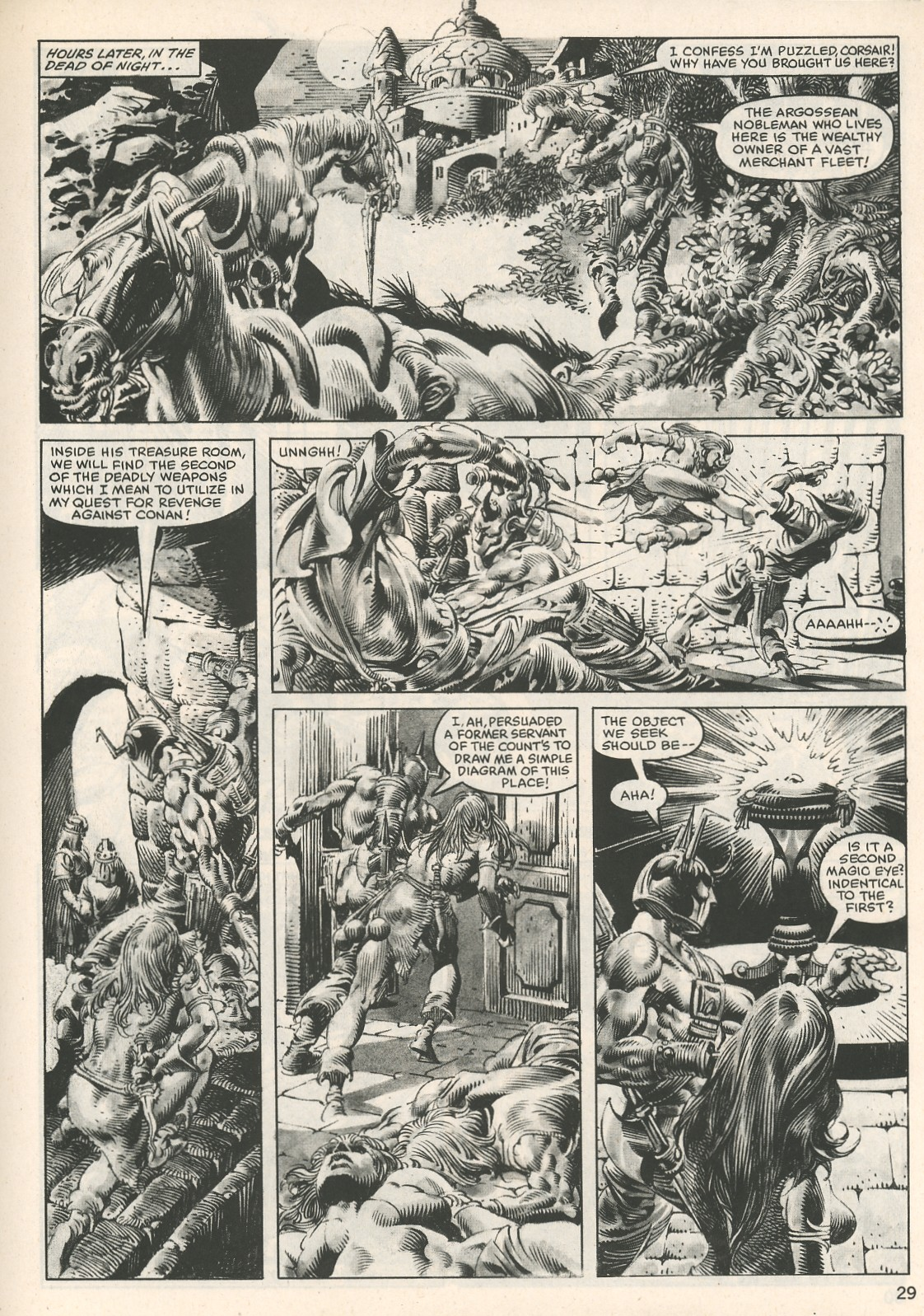 The Savage Sword Of Conan Issue #107 #108 - English 29