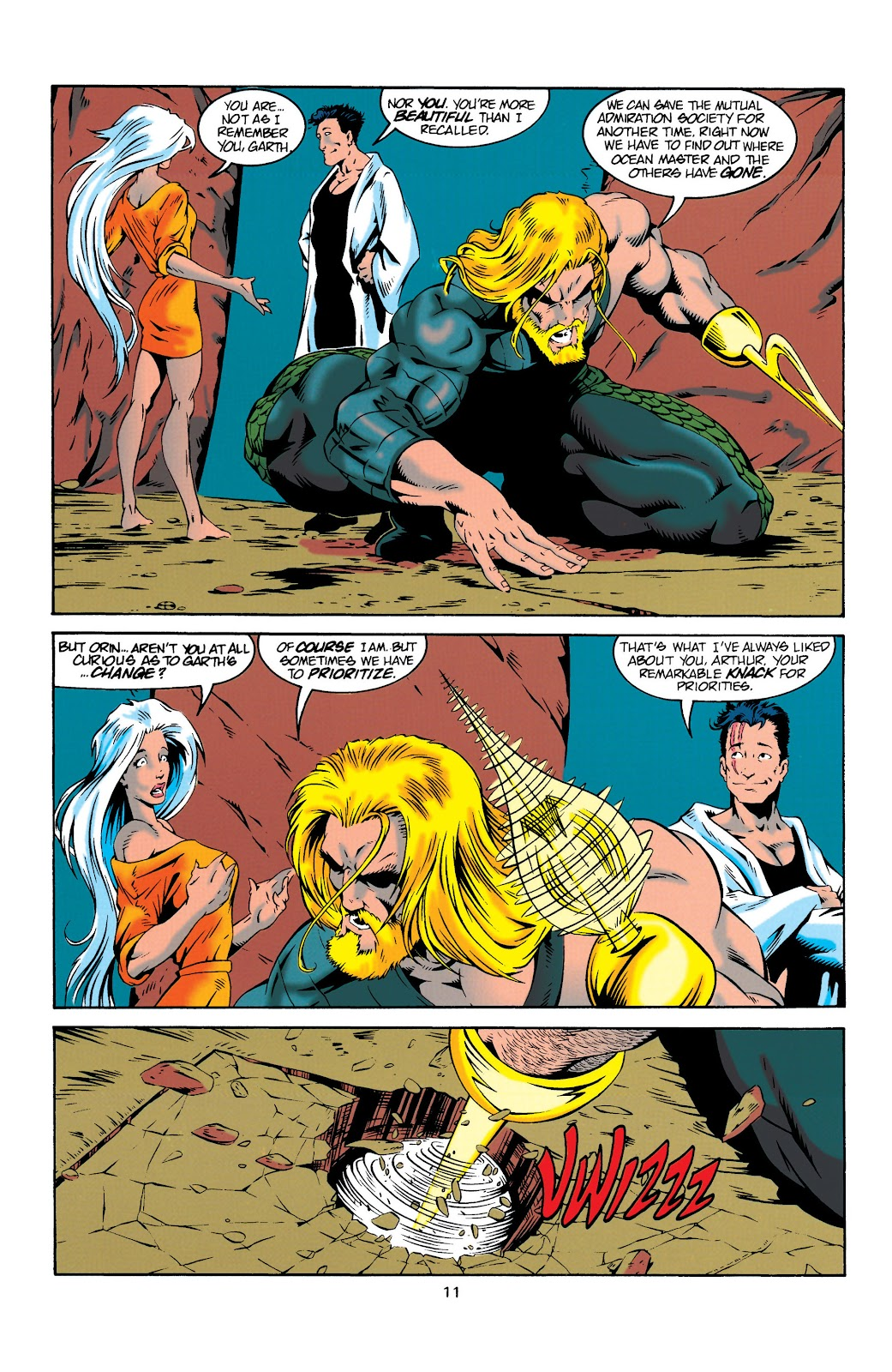 Aquaman (1994) Issue #20 #26 - English 11