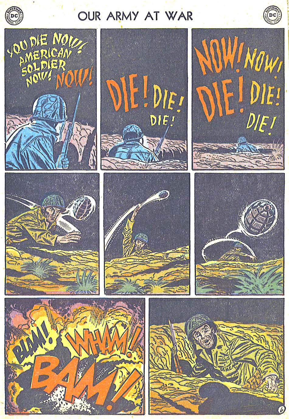 at War (1952) Issue #248 #301 - English 16