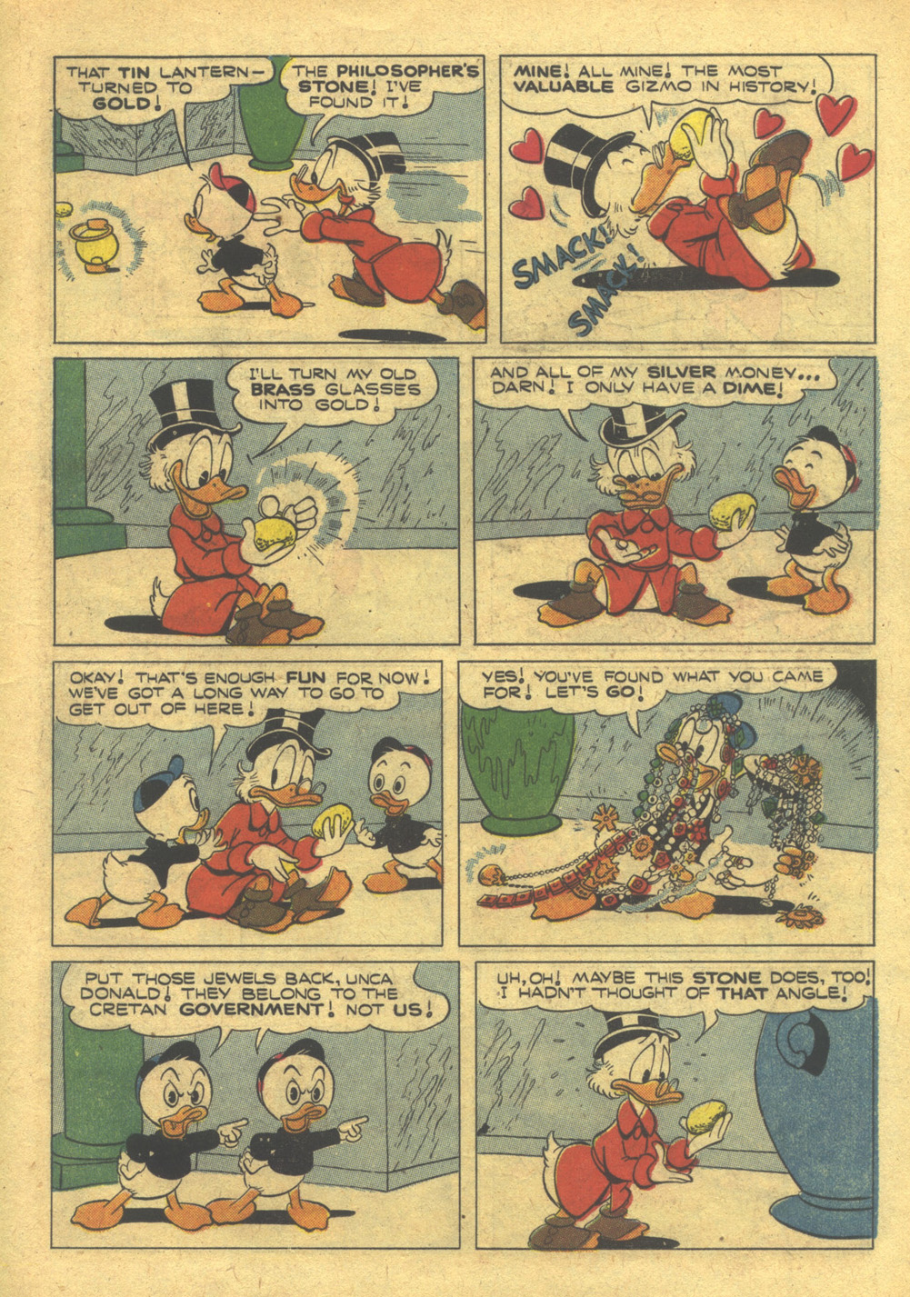 Uncle Scrooge (1953) #10 #395 - English 19