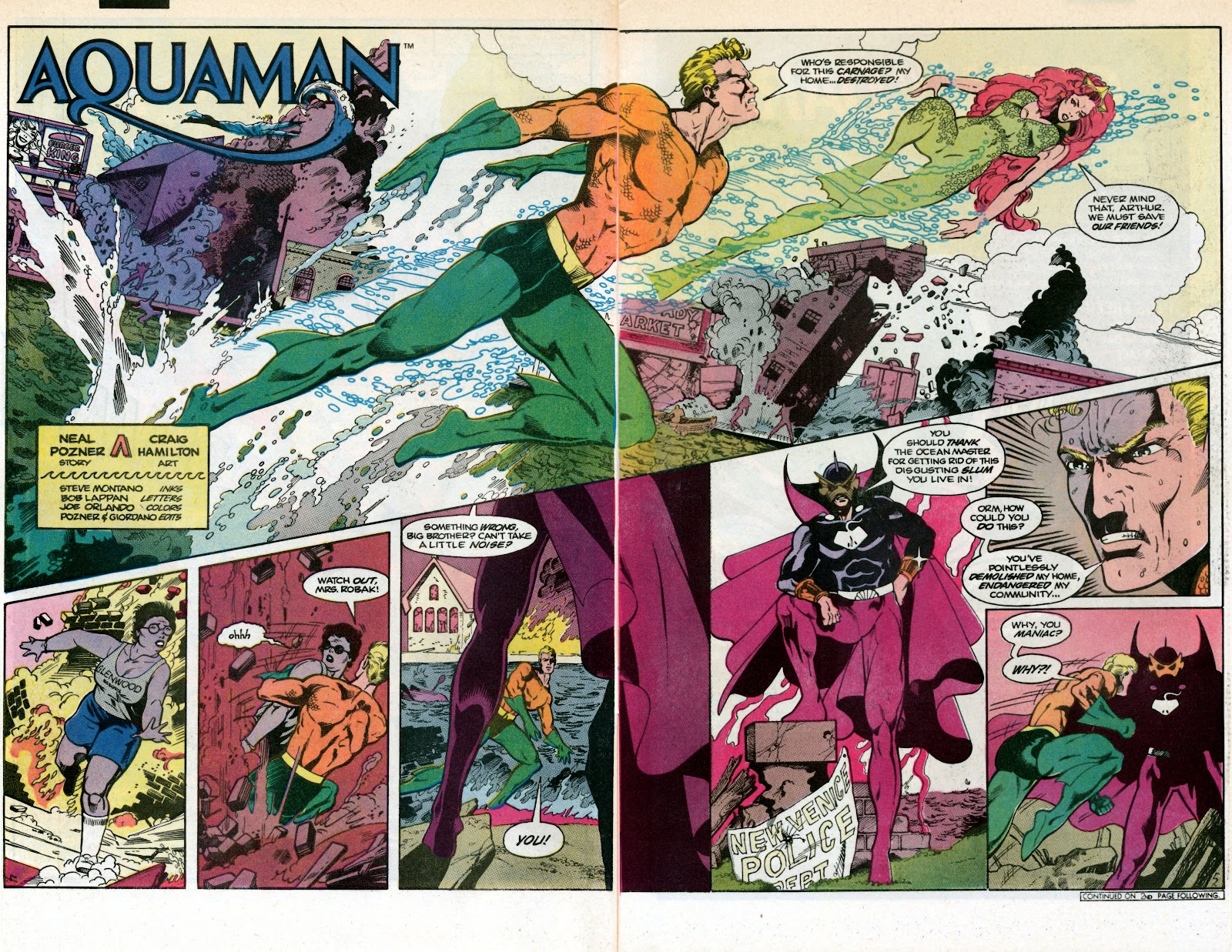 Aquaman (1986) Issue #1 #1 - English 6