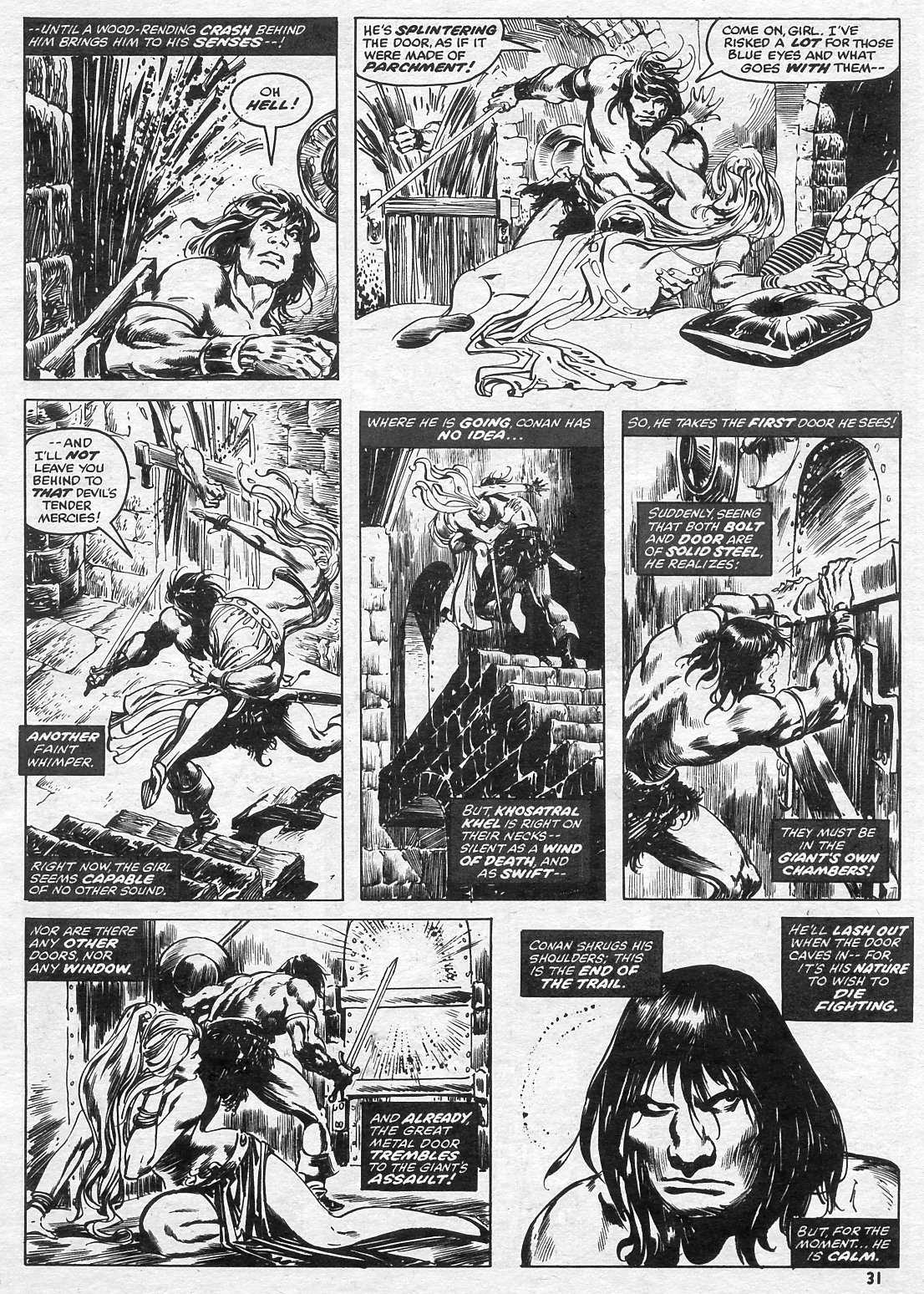 The Savage Sword Of Conan Issue #15 #16 - English 31