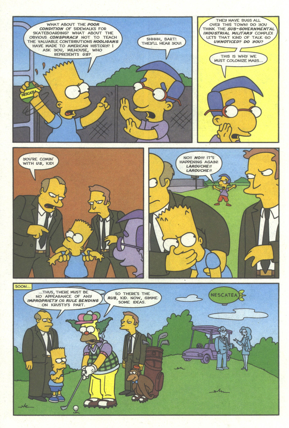 Read online Simpsons Comics comic -  Issue #28 - 7
