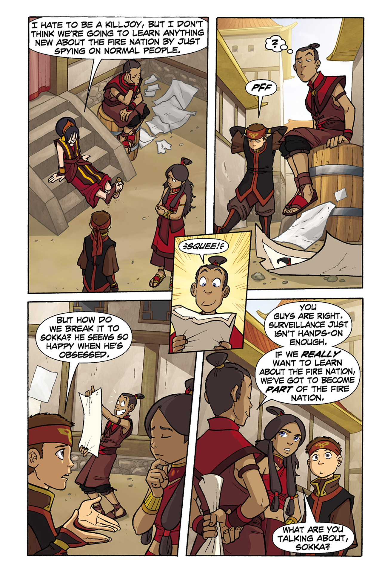Nickelodeon Avatar: The Last Airbender - The Lost Adventures chap full pic 120