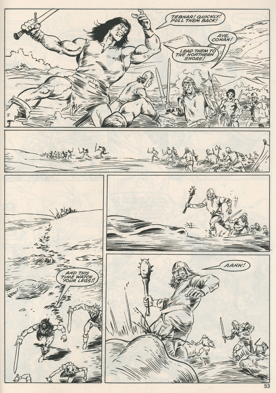 The Savage Sword Of Conan Issue #115 #116 - English 53