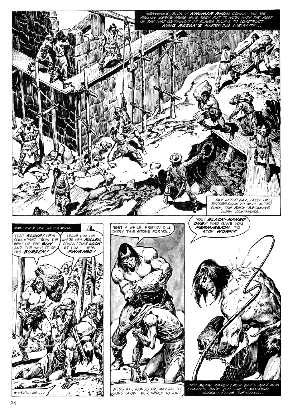 The Savage Sword Of Conan Issue #71 #72 - English 24
