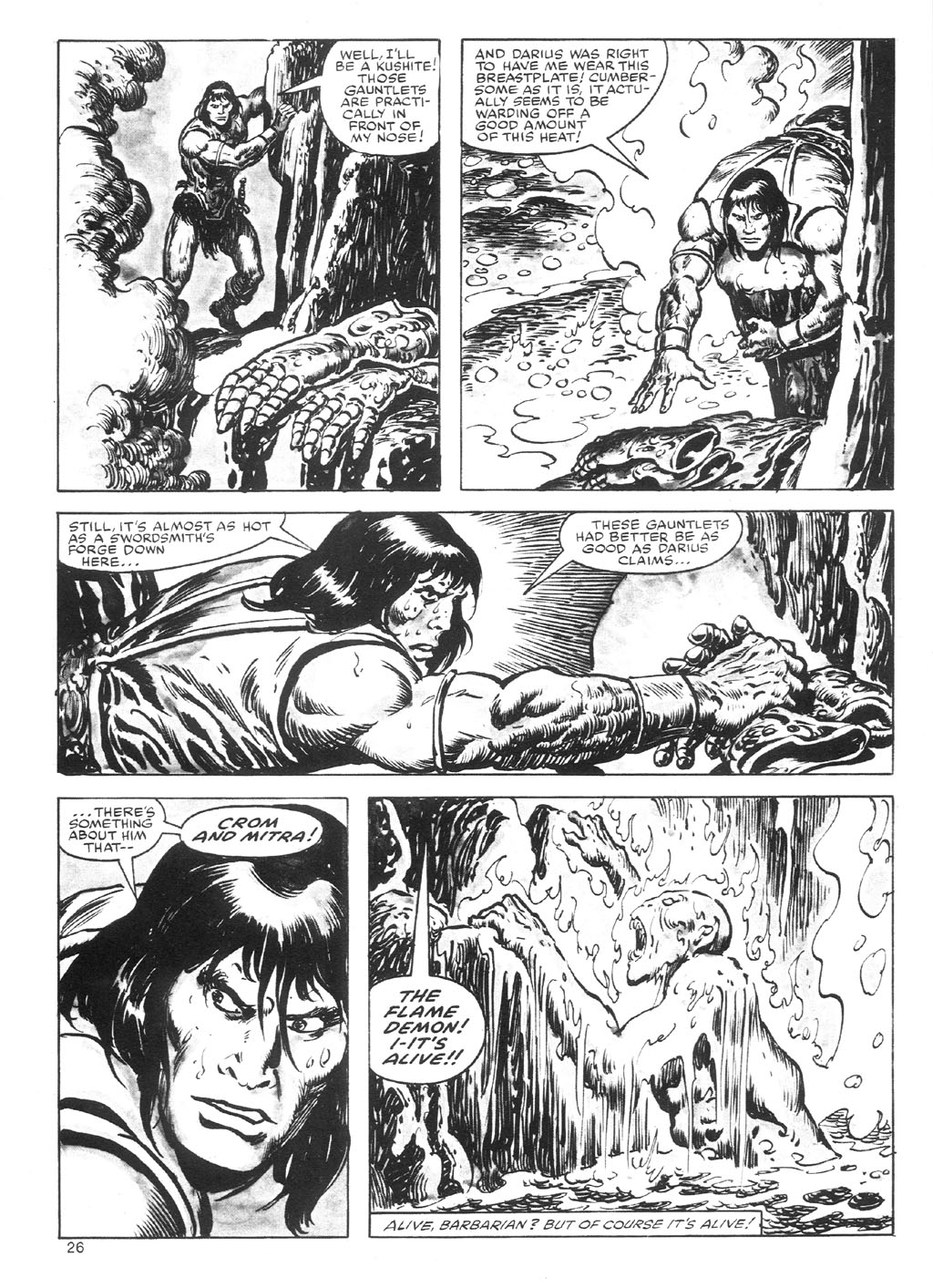 The Savage Sword Of Conan Issue #87 #88 - English 26