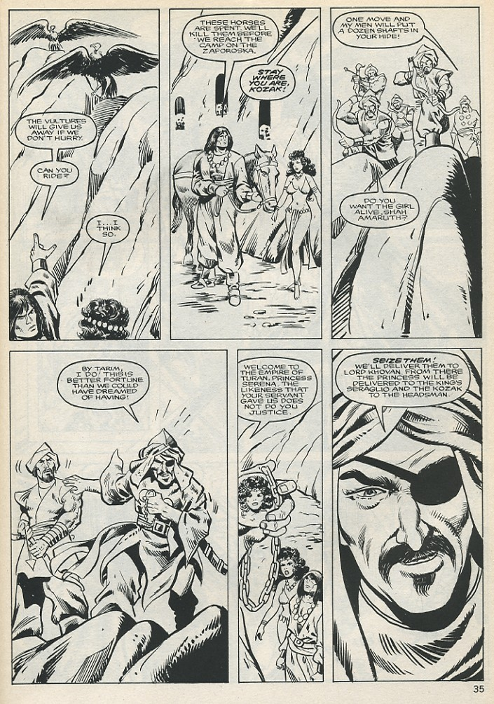 The Savage Sword Of Conan Issue #131 #132 - English 35
