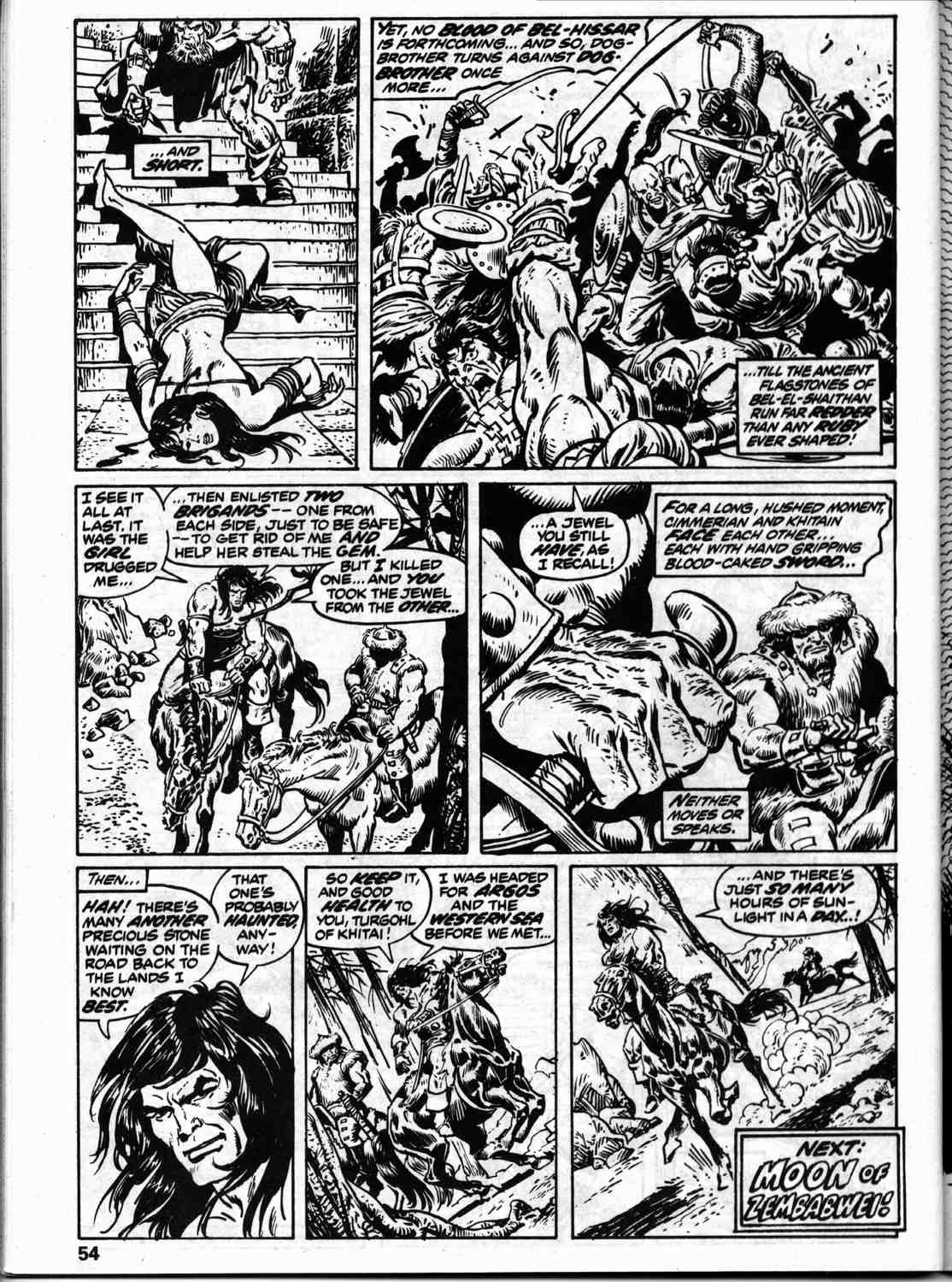The Savage Sword Of Conan Issue #59 #60 - English 61