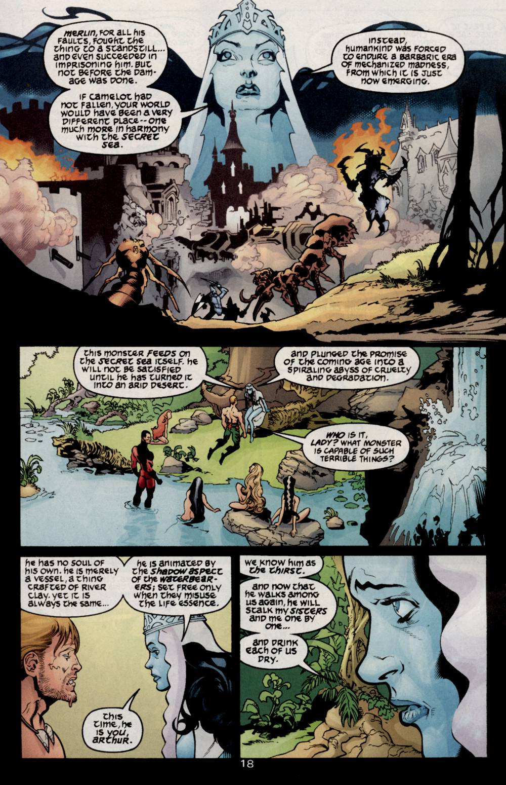 Aquaman (2003) Issue #5 #5 - English 20