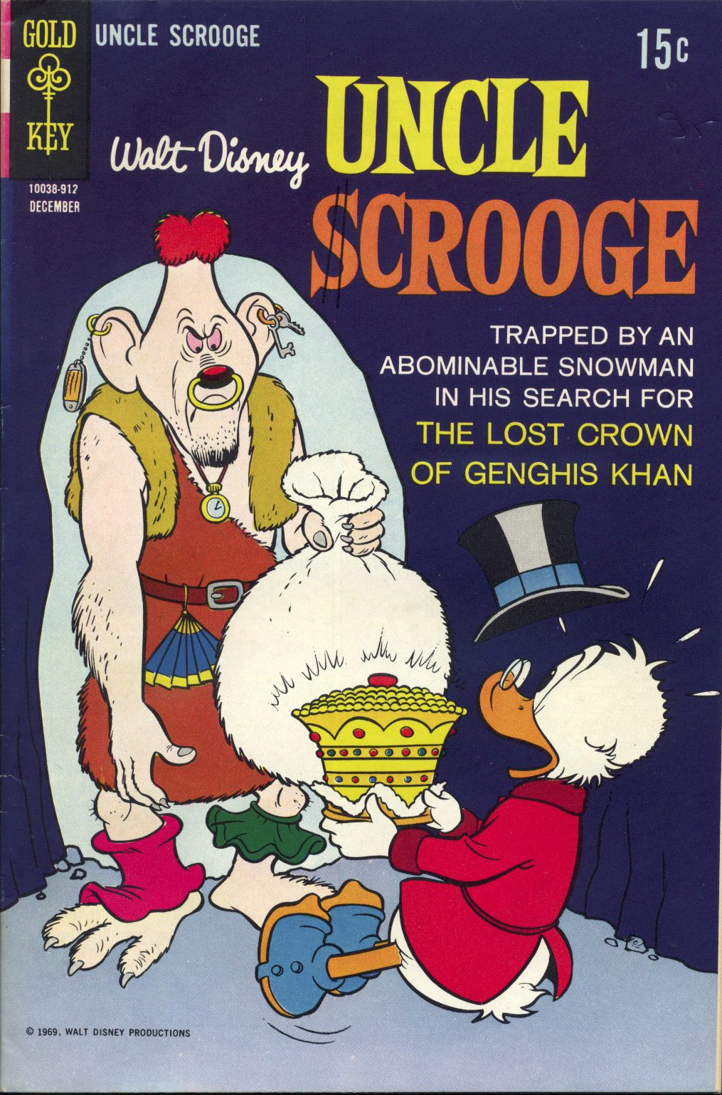 Uncle Scrooge (1953) Issue #84 #84 - English 1
