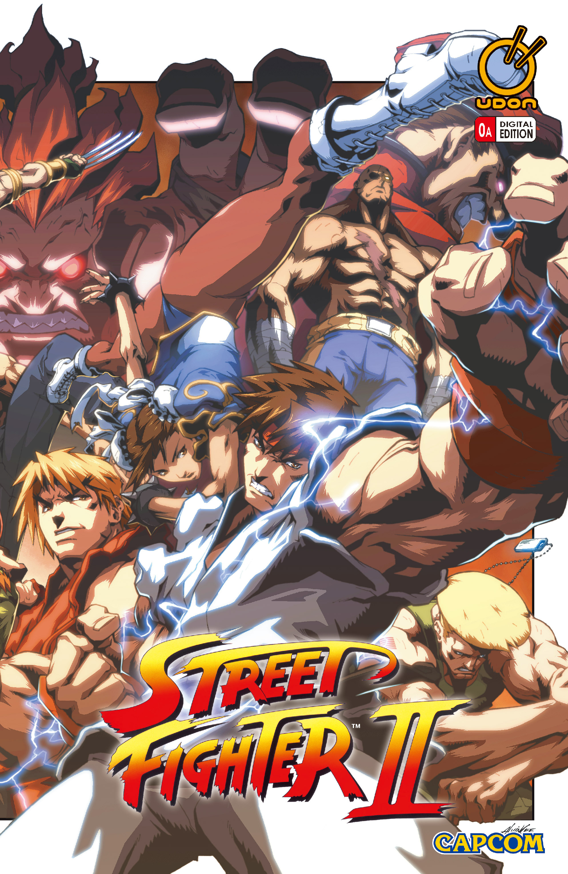 Street Fighter II chap 0 pic 1