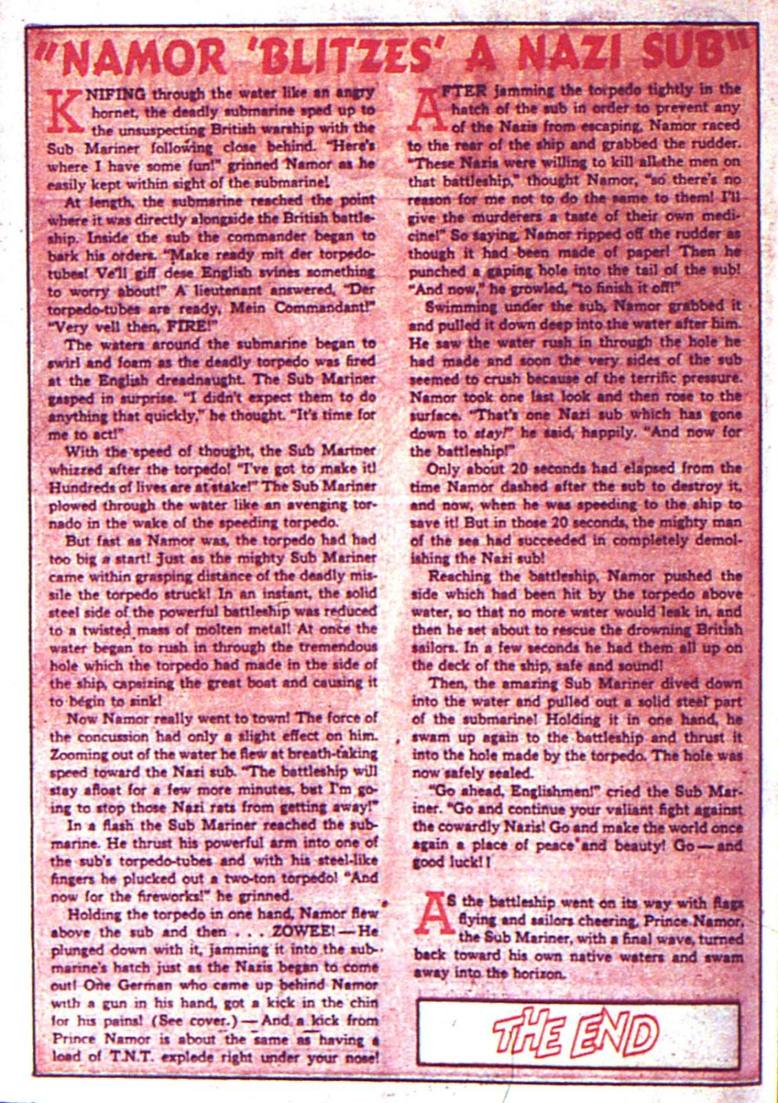 Sub-Mariner Comics Issue #2 #2 - English 46