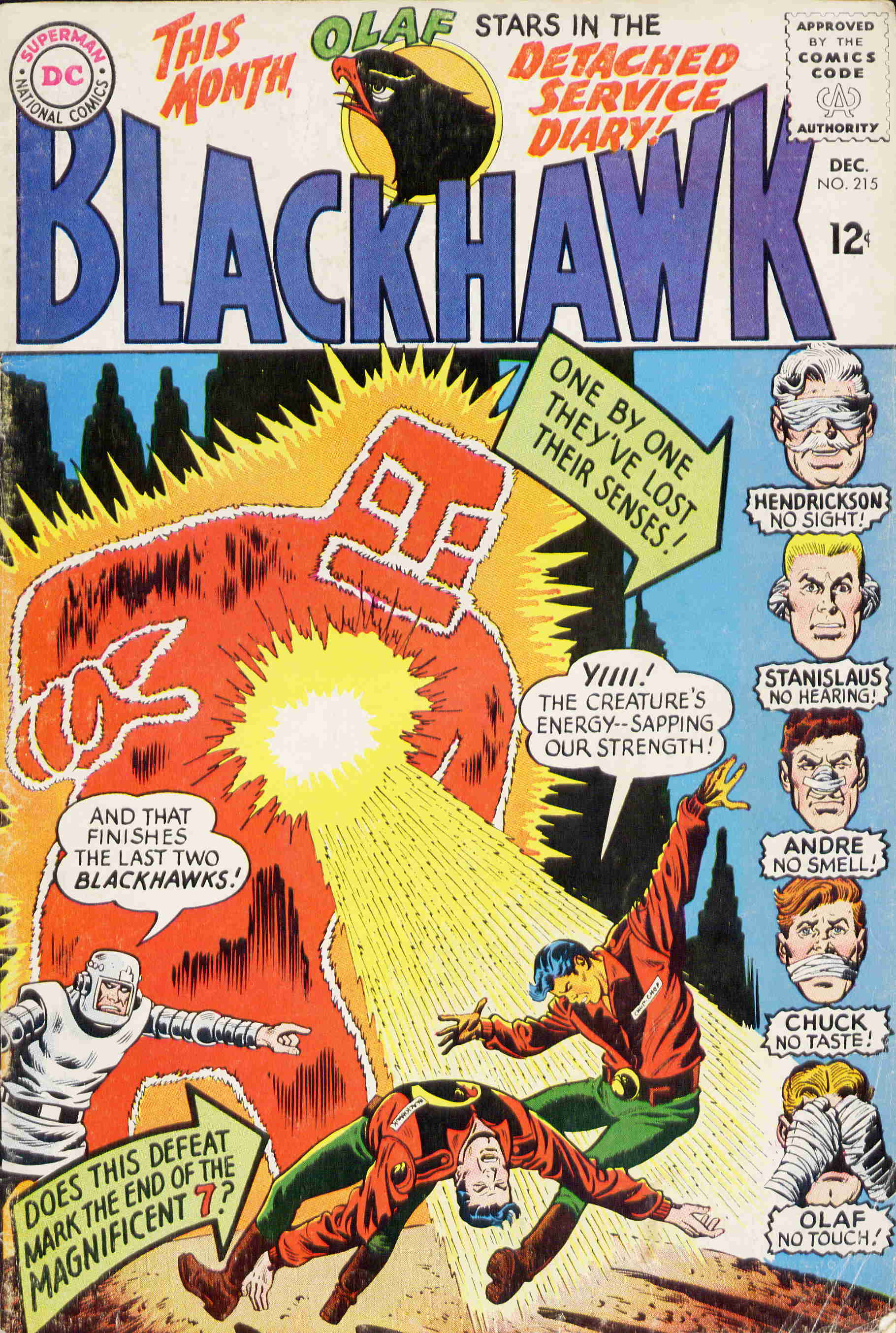Blackhawk (1957) 215 Page 1