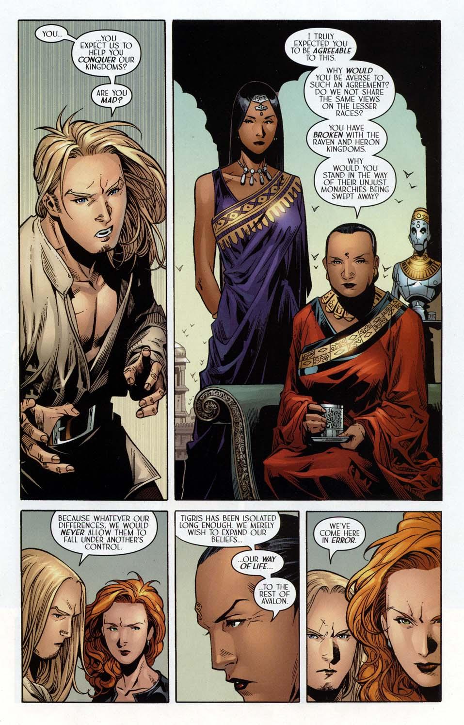 Read online Scion comic -  Issue #32 - 17