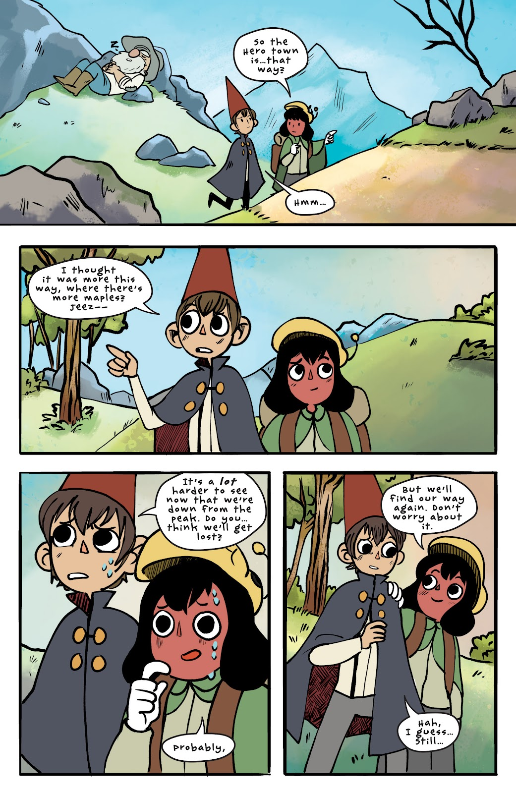 Over the Garden Wall (2016) Issue #12 #12 - English 14